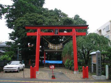 宮城野八幡神社の鳥居