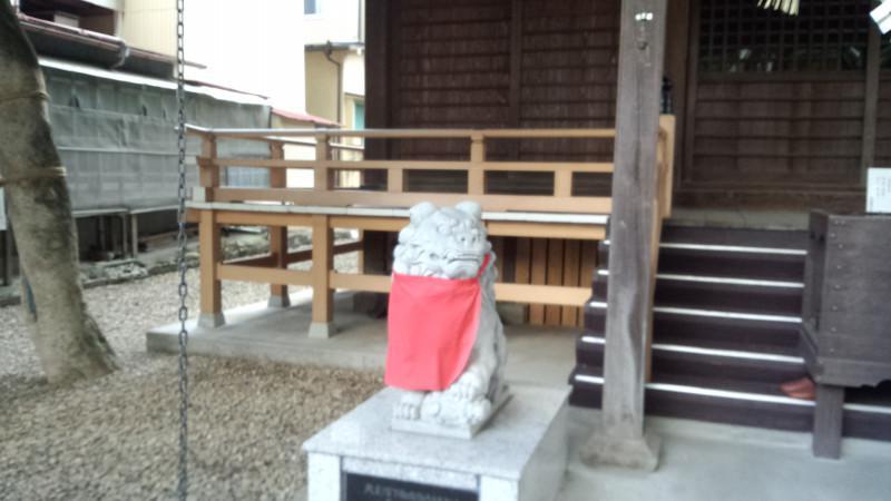宮城野八幡神社の狛犬