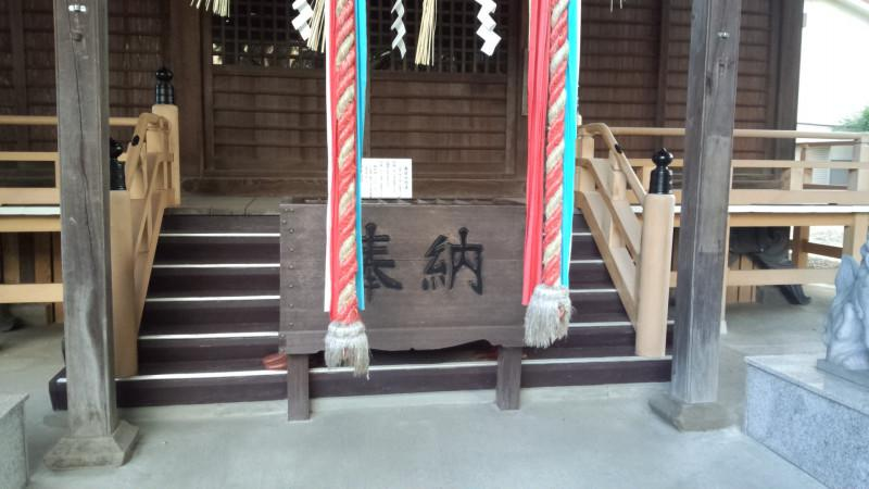 宮城野八幡神社の本殿