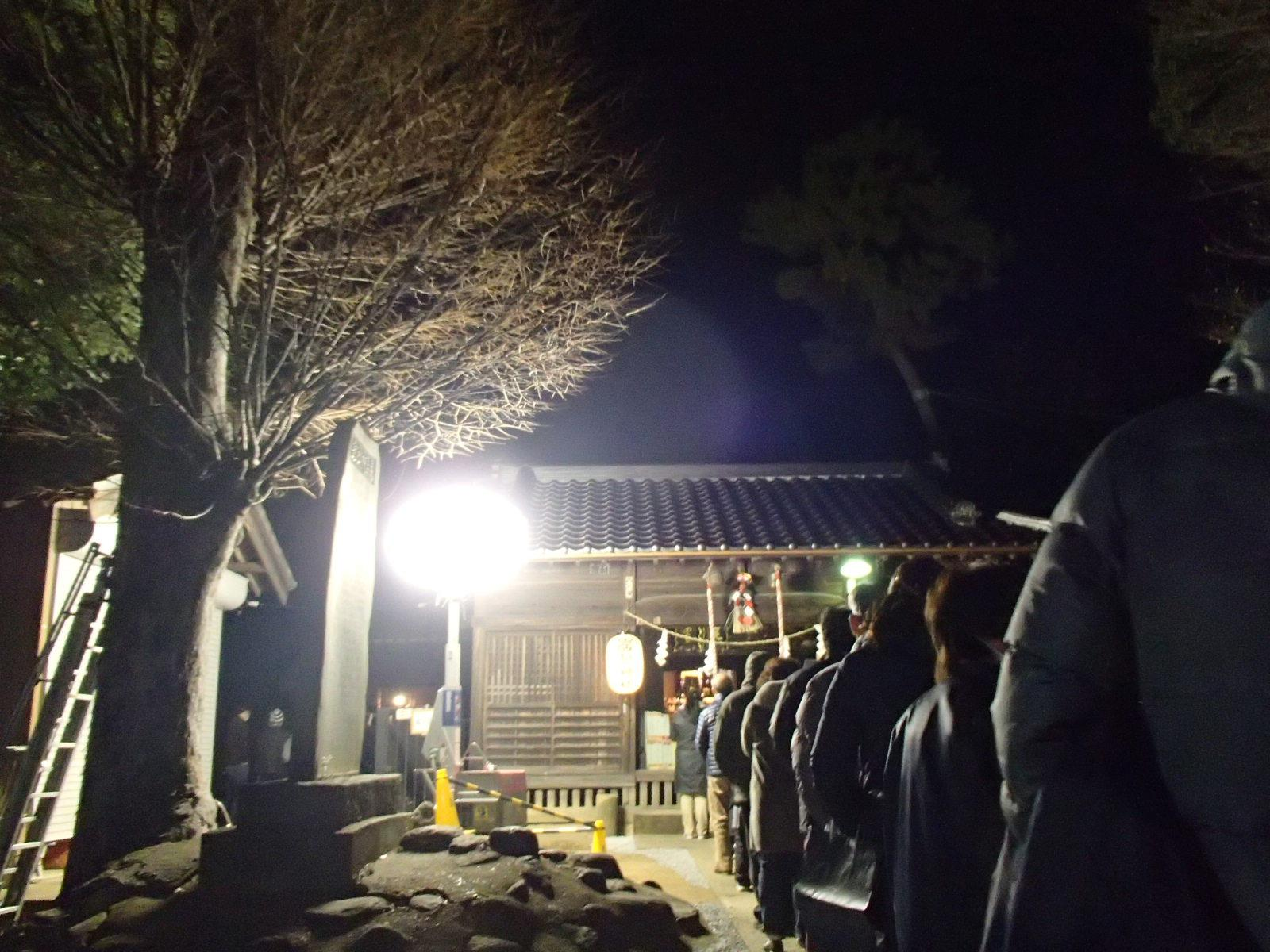 厳島神社の初詣
