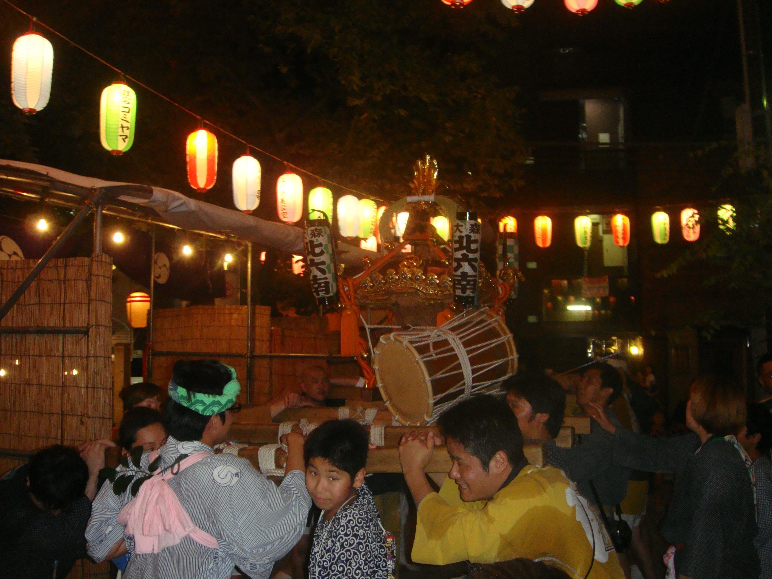 磐井神社のお祭り