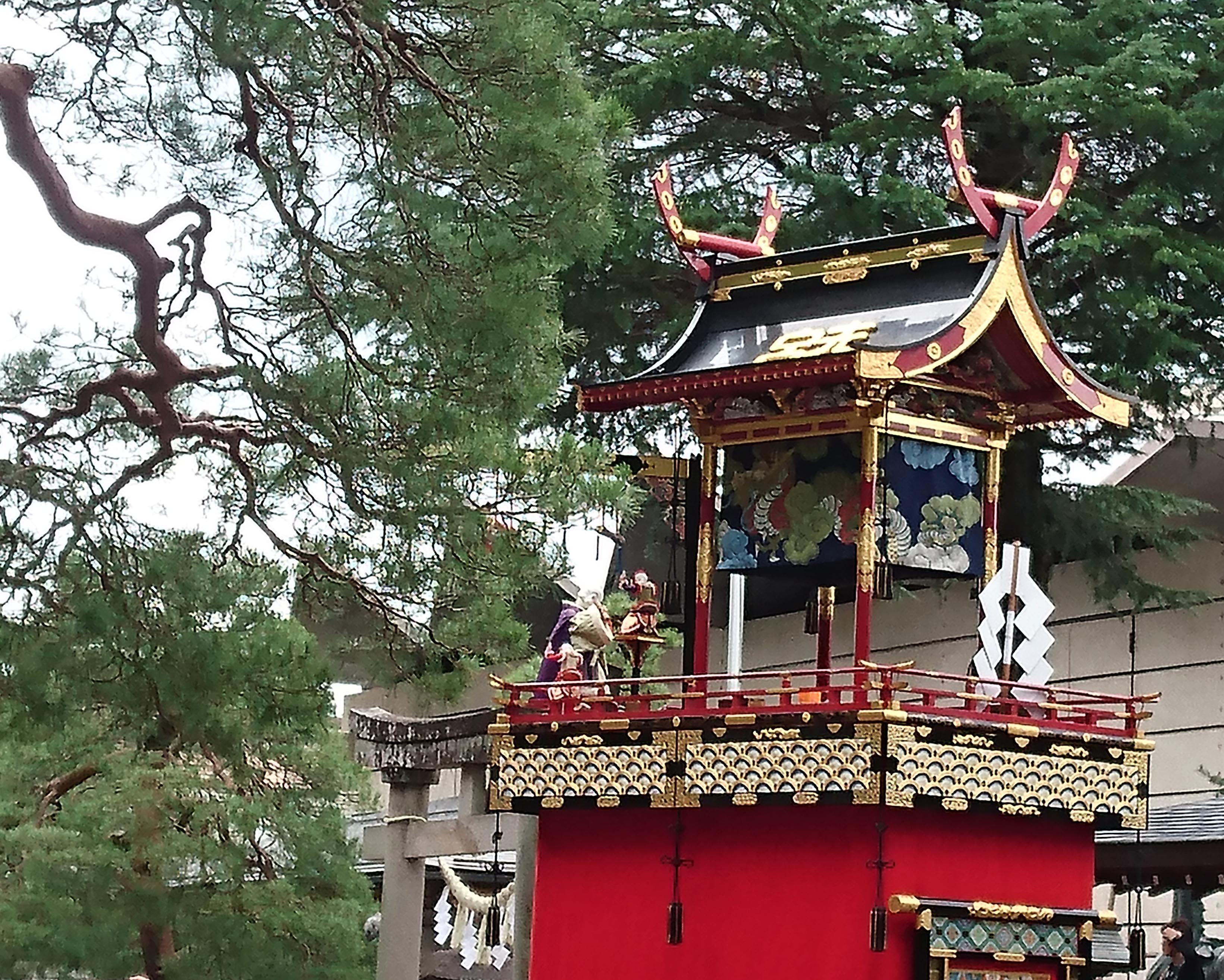 櫻山八幡宮のお祭り