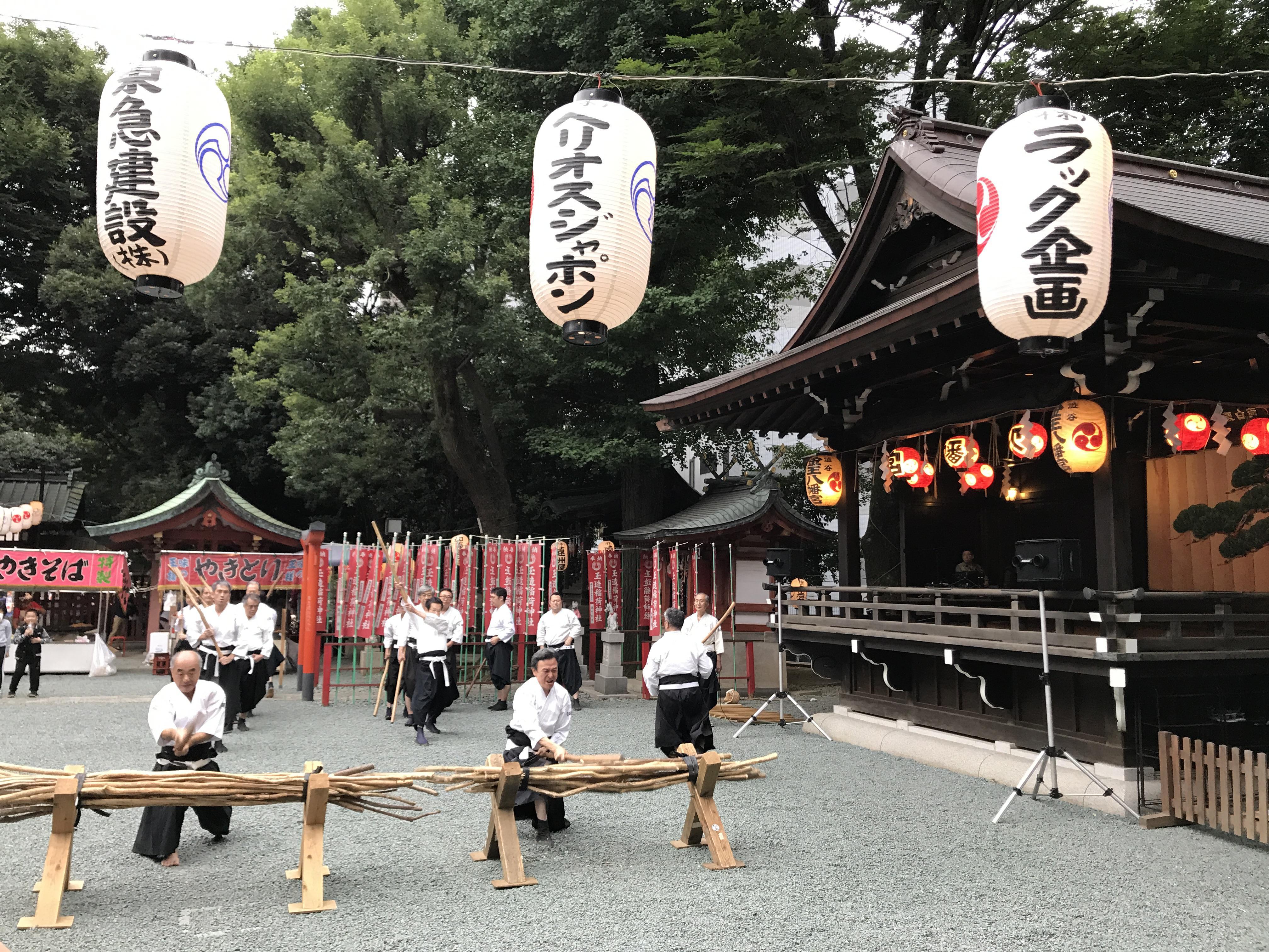 金王八幡宮のお祭り