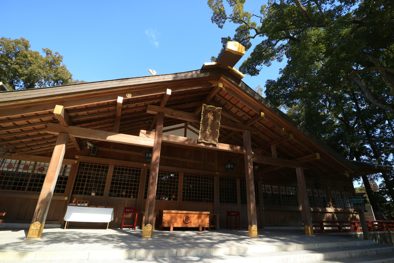 猿田彦神社の本殿