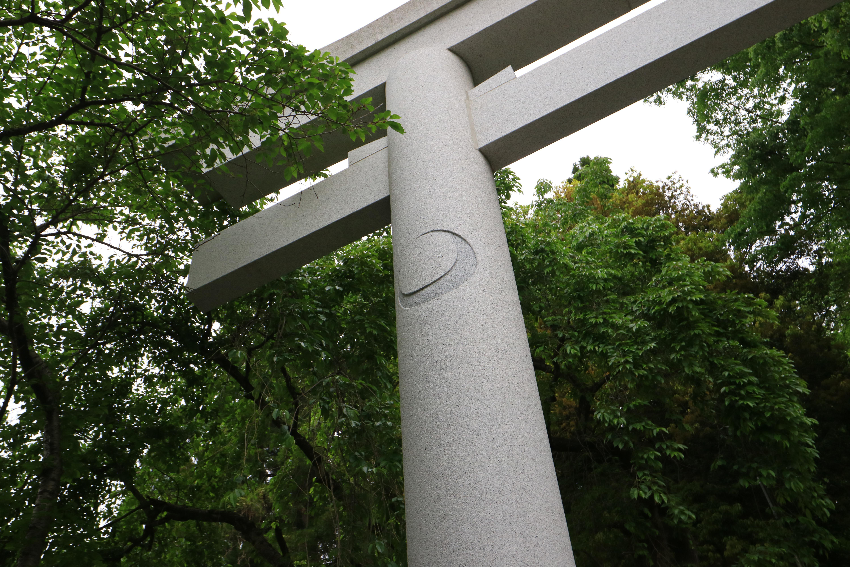 青葉神社の鳥居