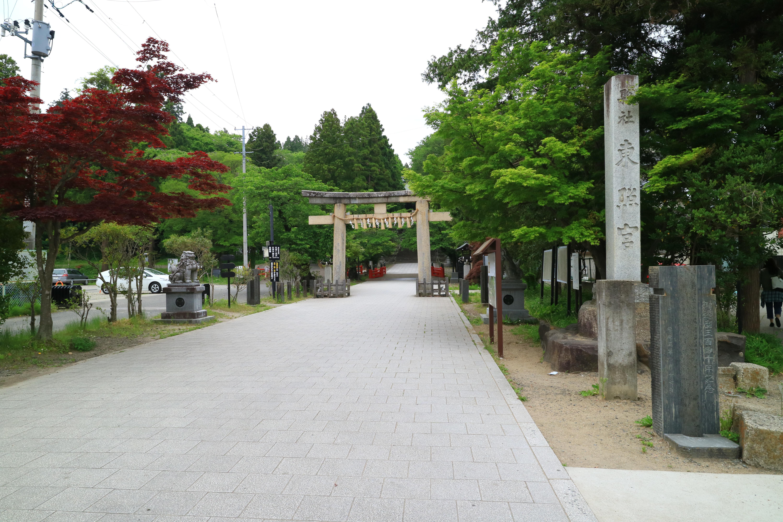 仙台東照宮の鳥居