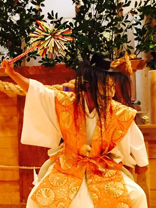 大御神社の神楽
