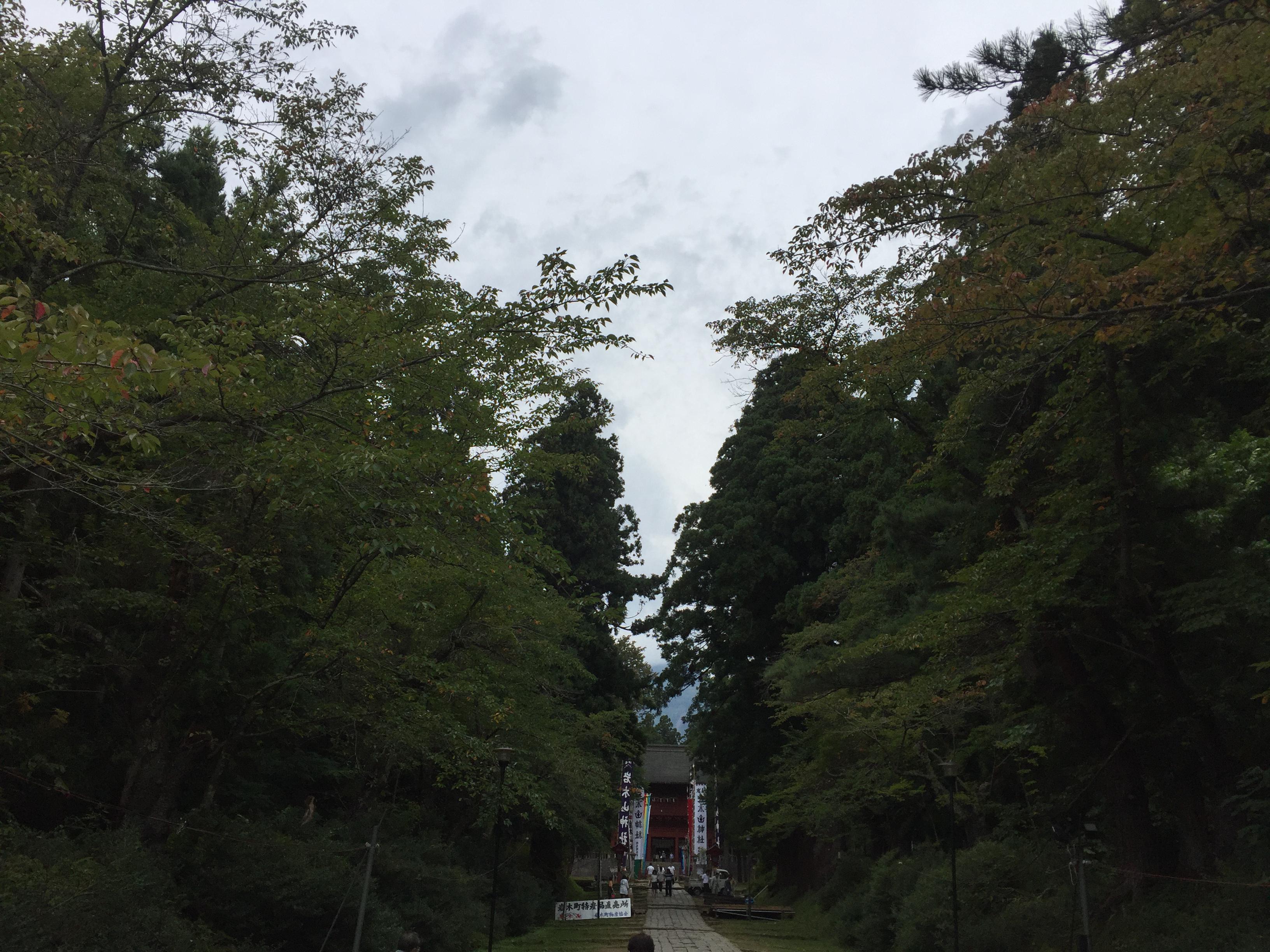 岩木山神社の自然