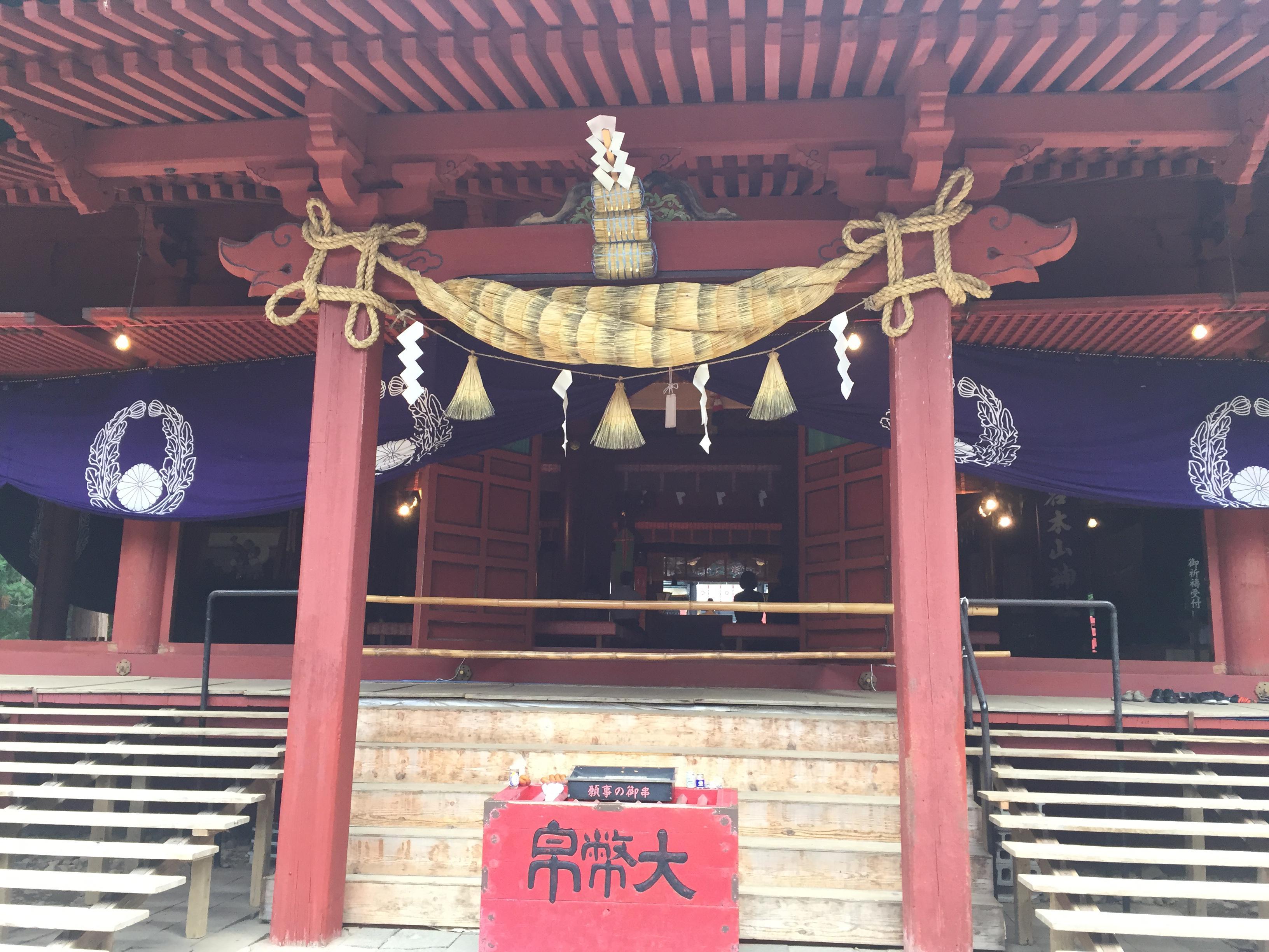 岩木山神社の本殿