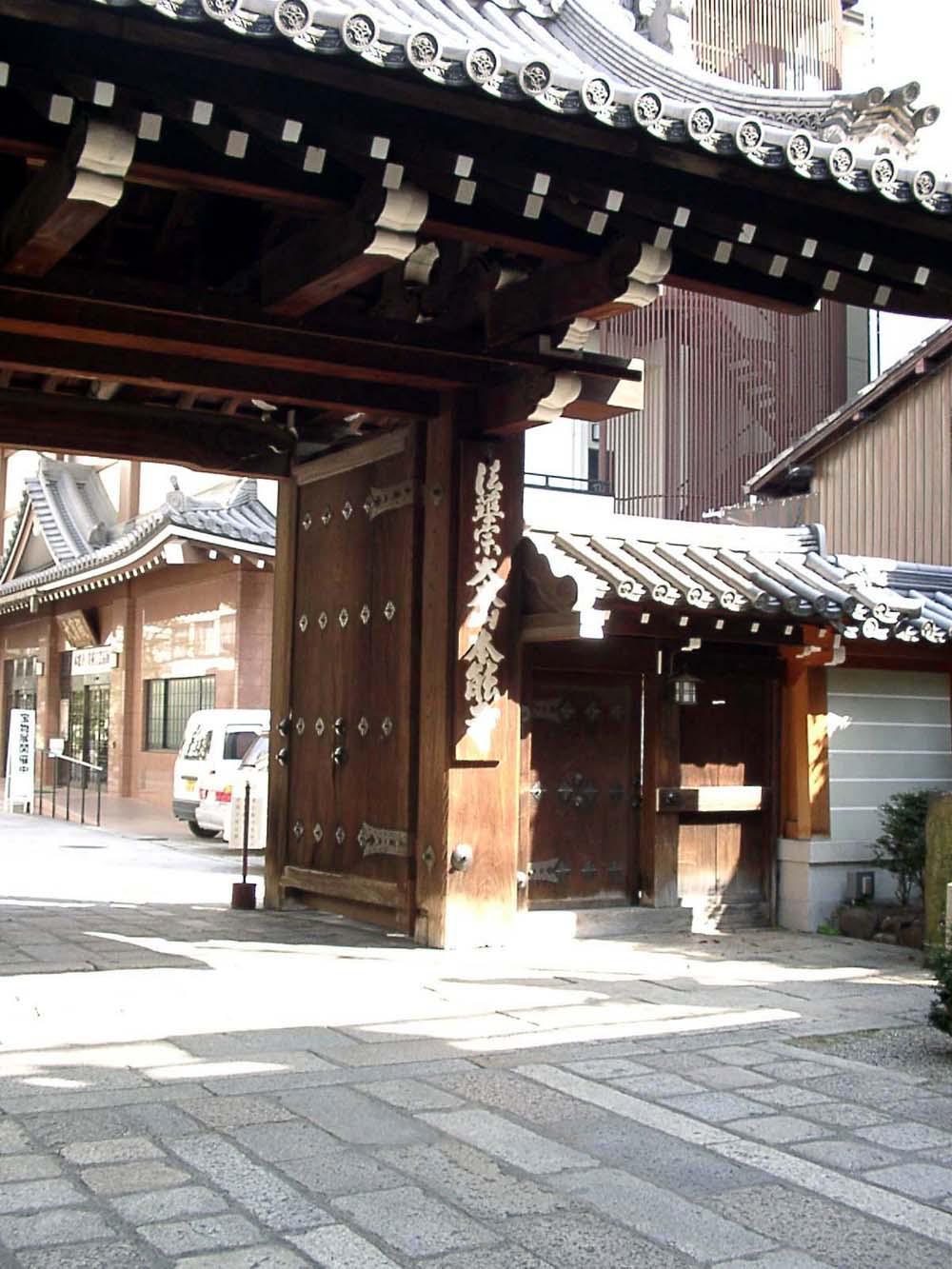 本能寺の境内・文化財