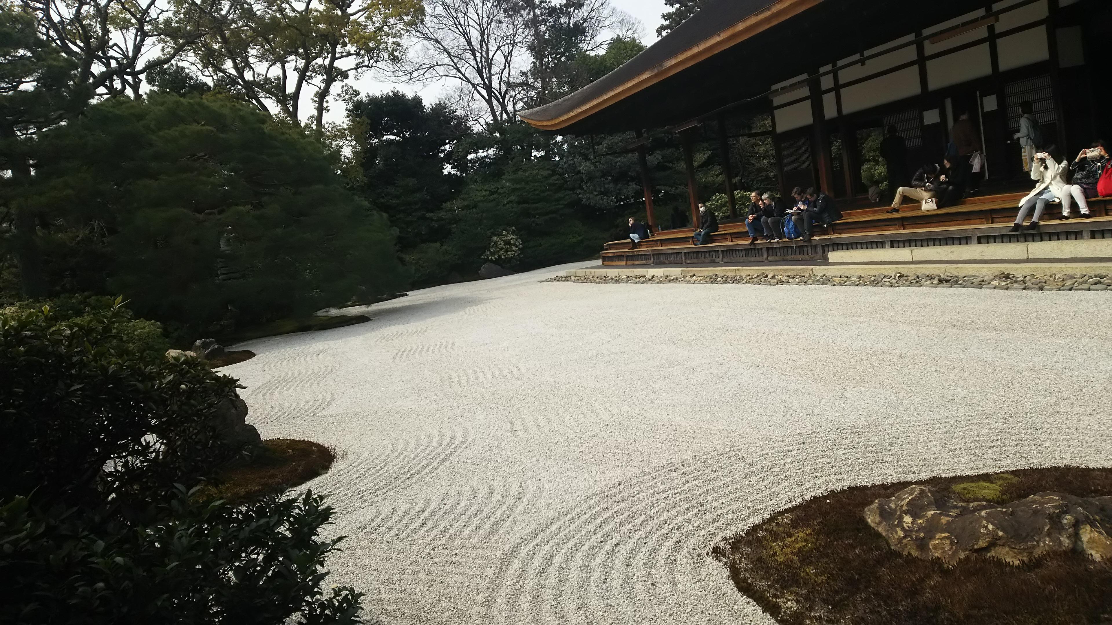 建仁寺の庭園(京都府祇園四条駅)