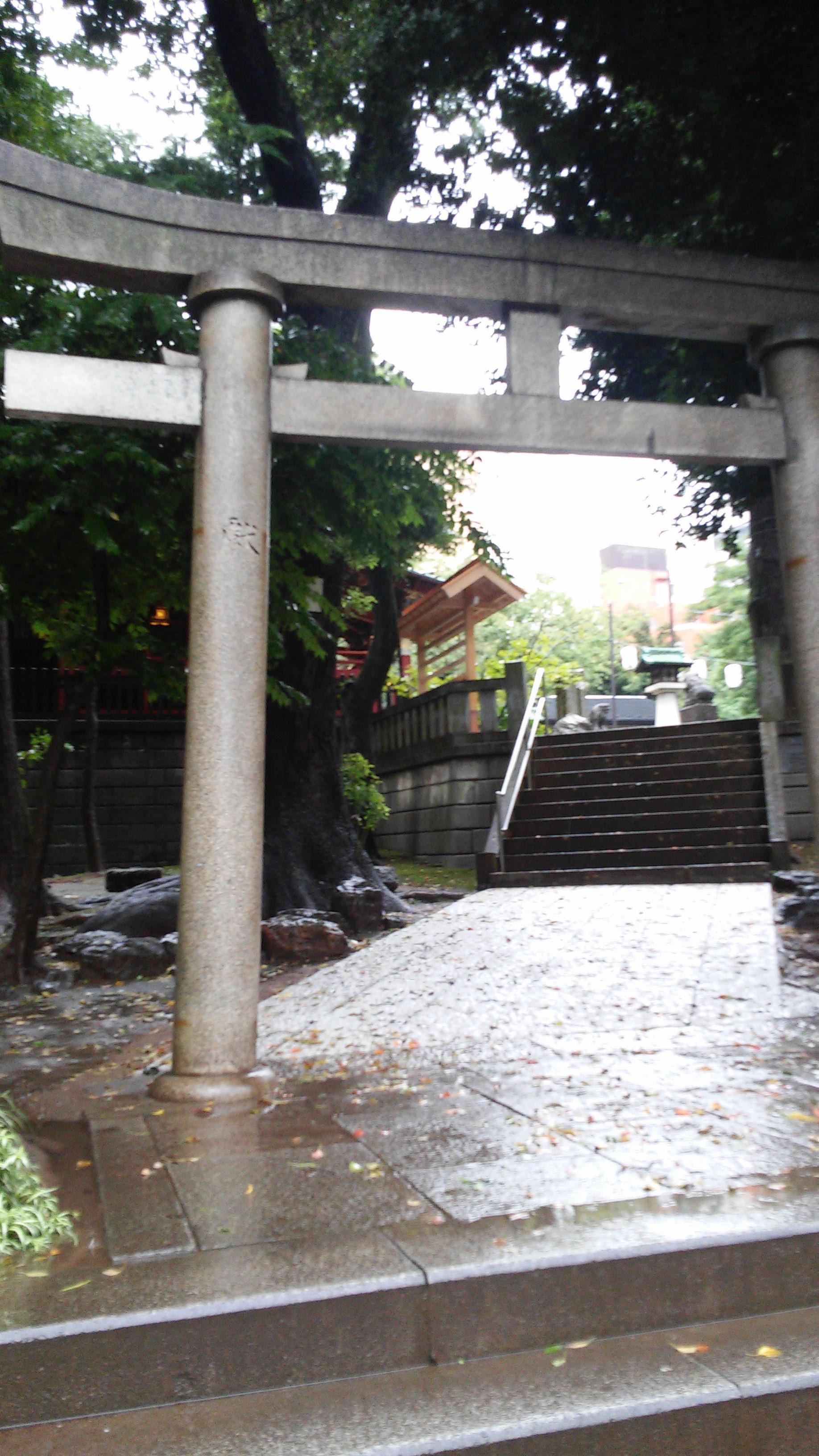 金王八幡宮の鳥居