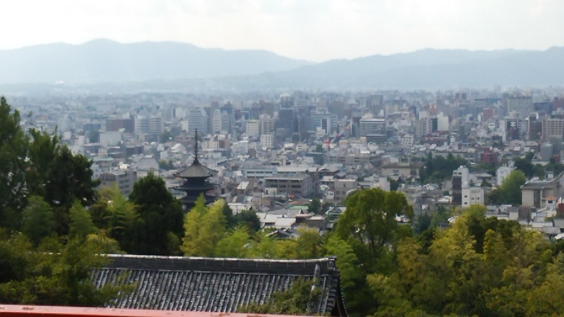 京都霊山護國神社の景色