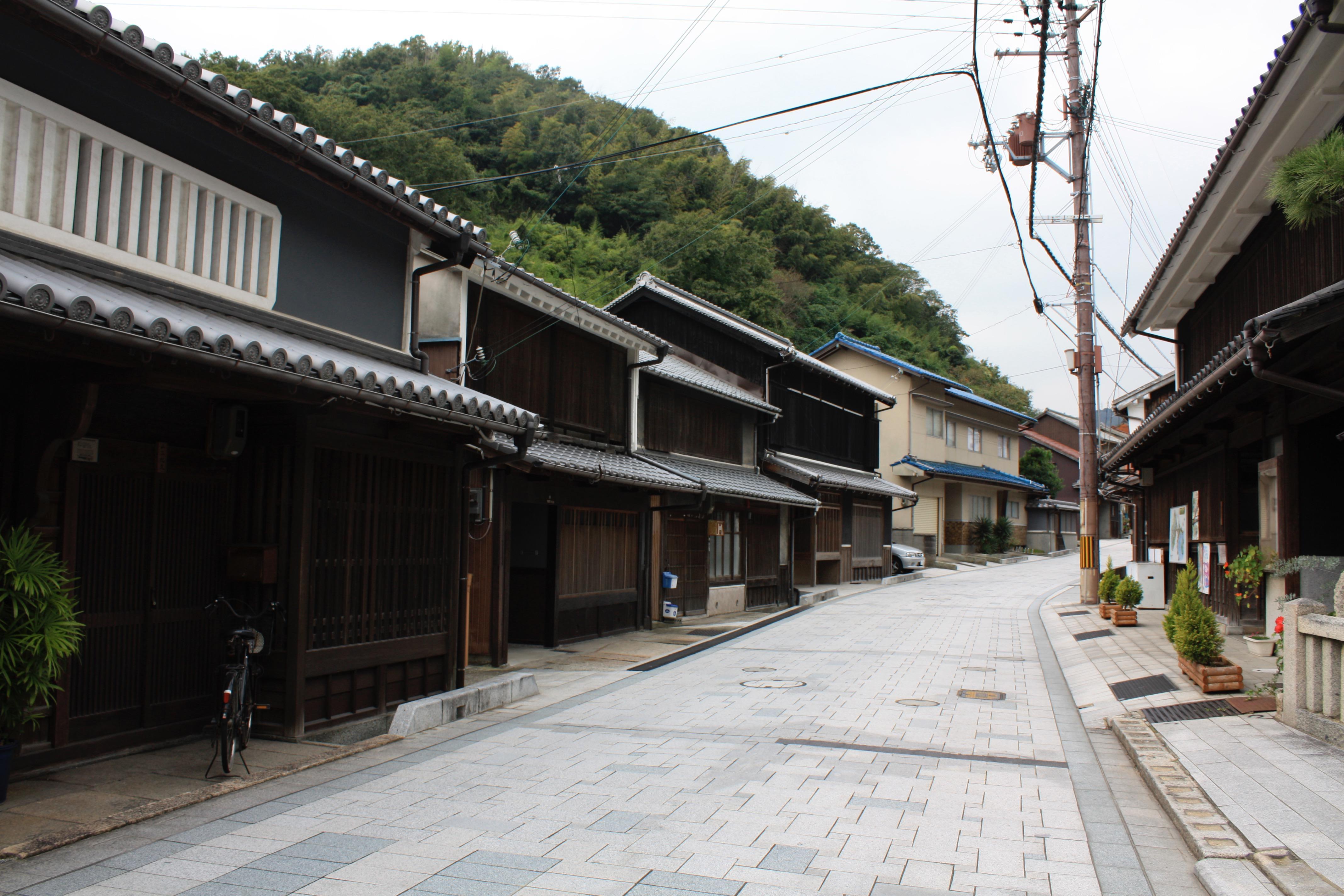 妙道寺の周辺