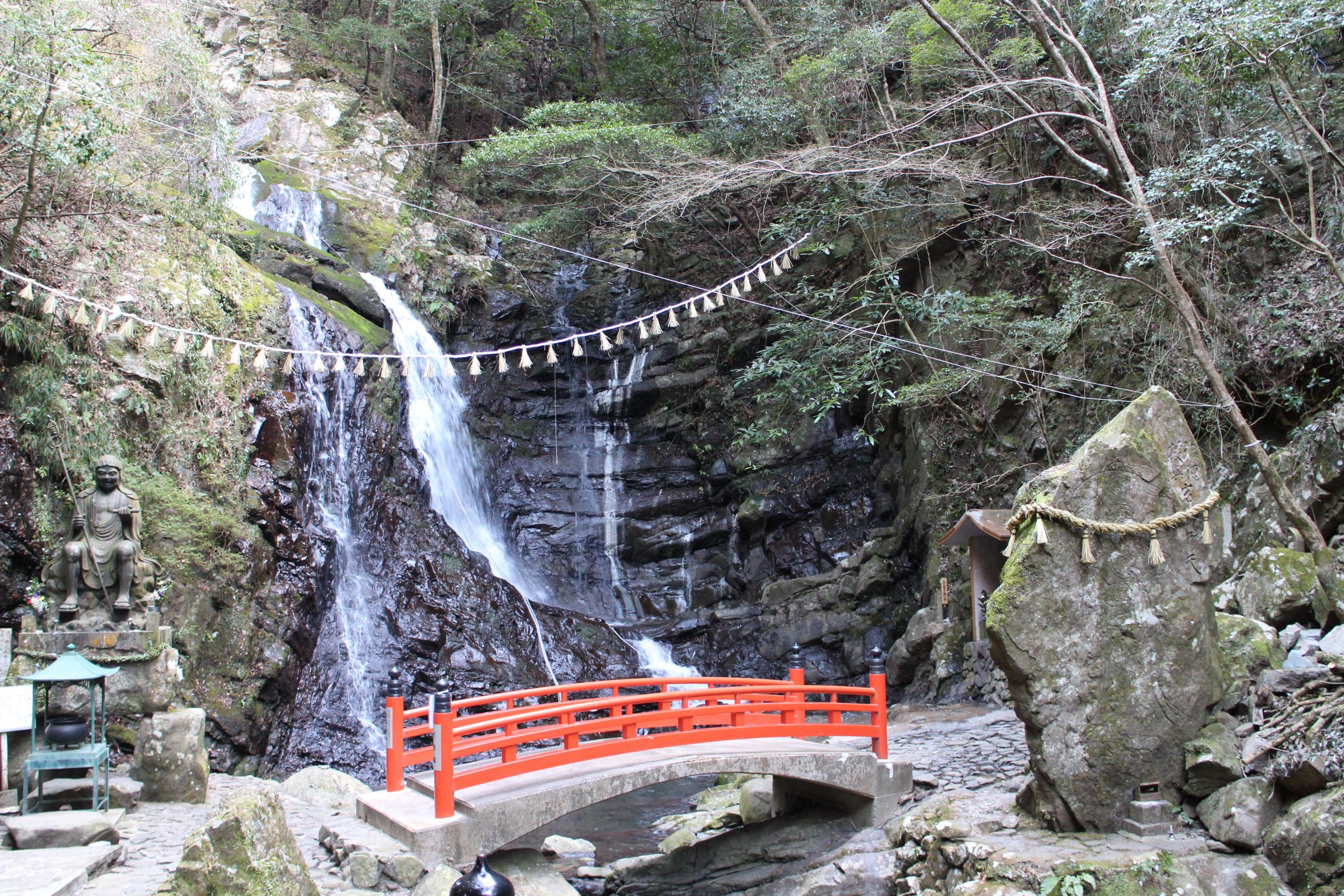 大本山七宝瀧寺の自然