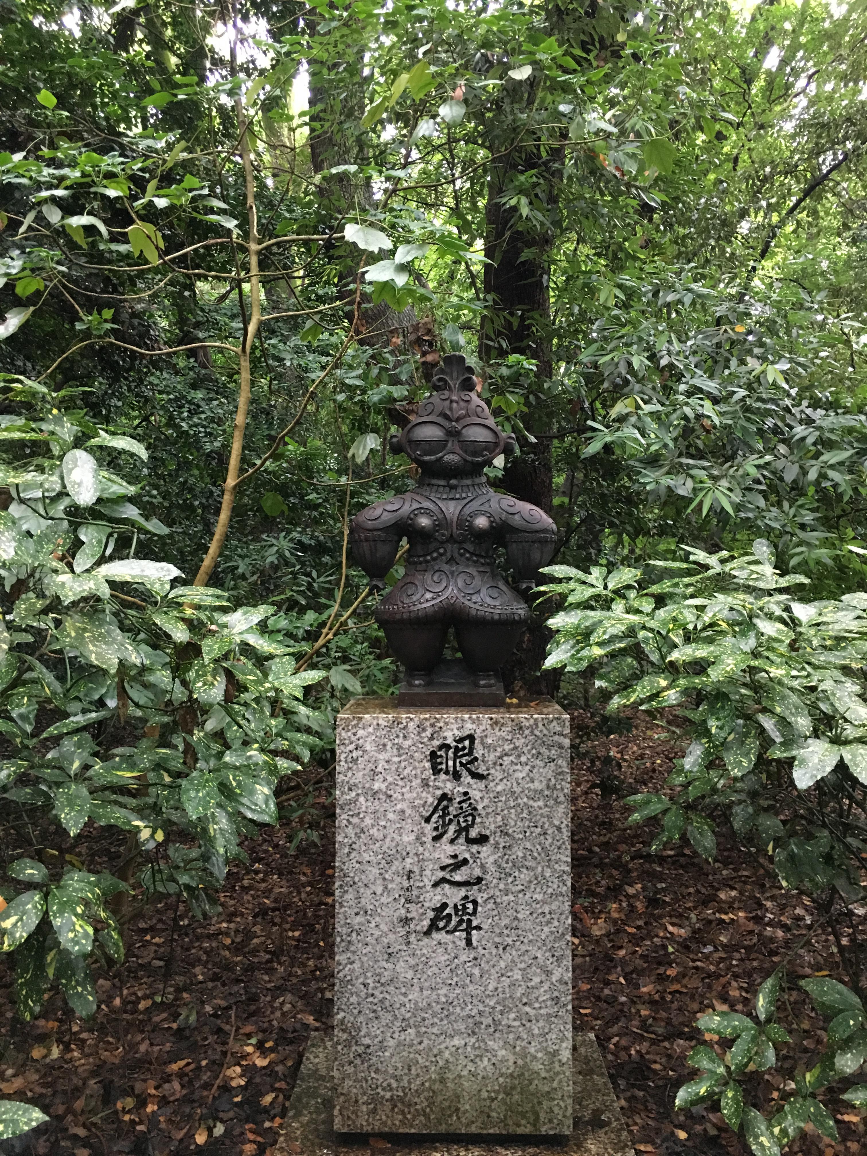 熱田神宮の像