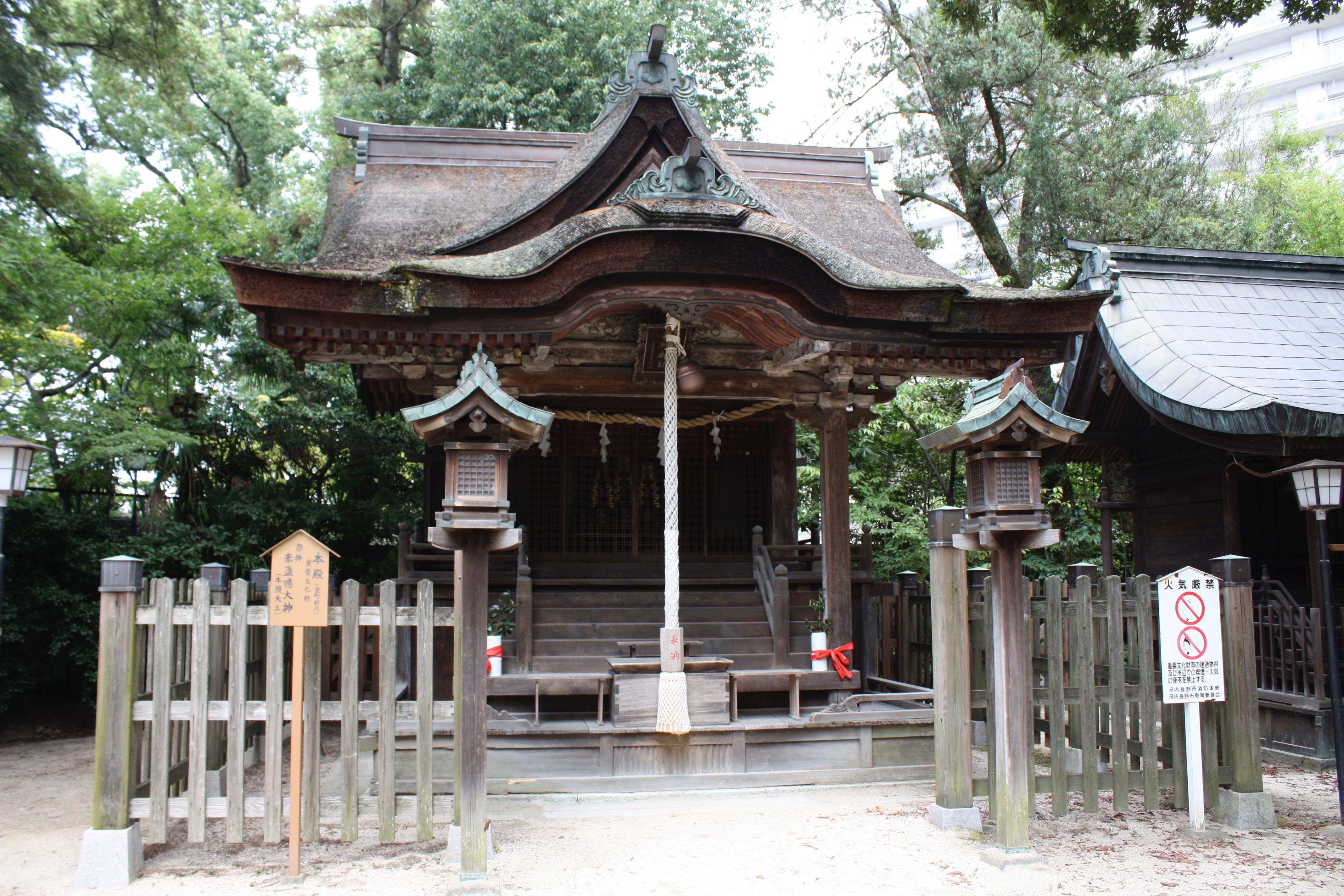 長野神社の本殿