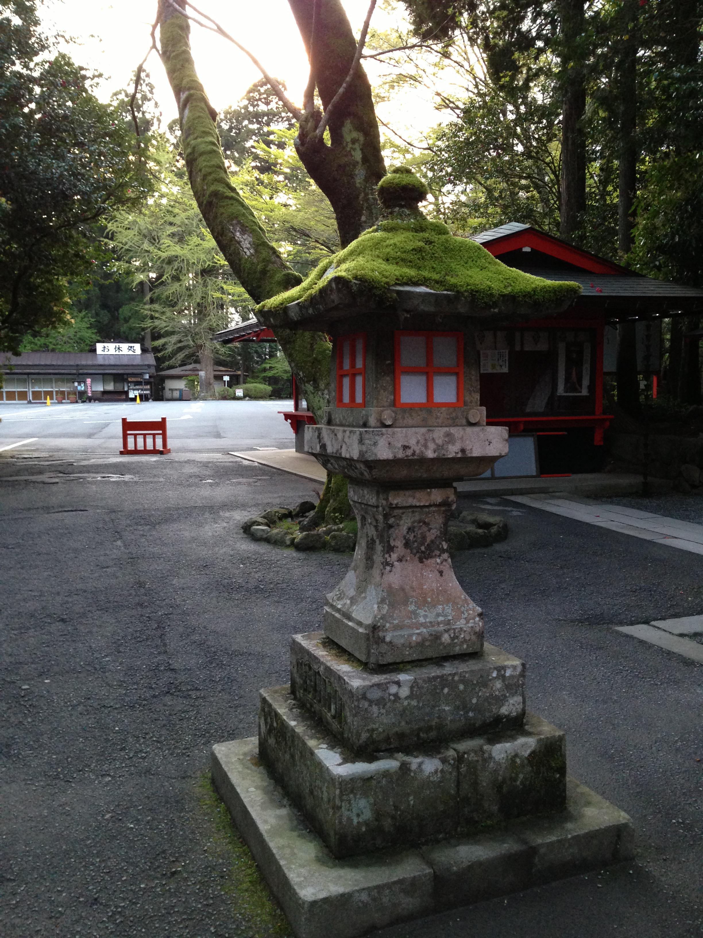 箱根神社の景色