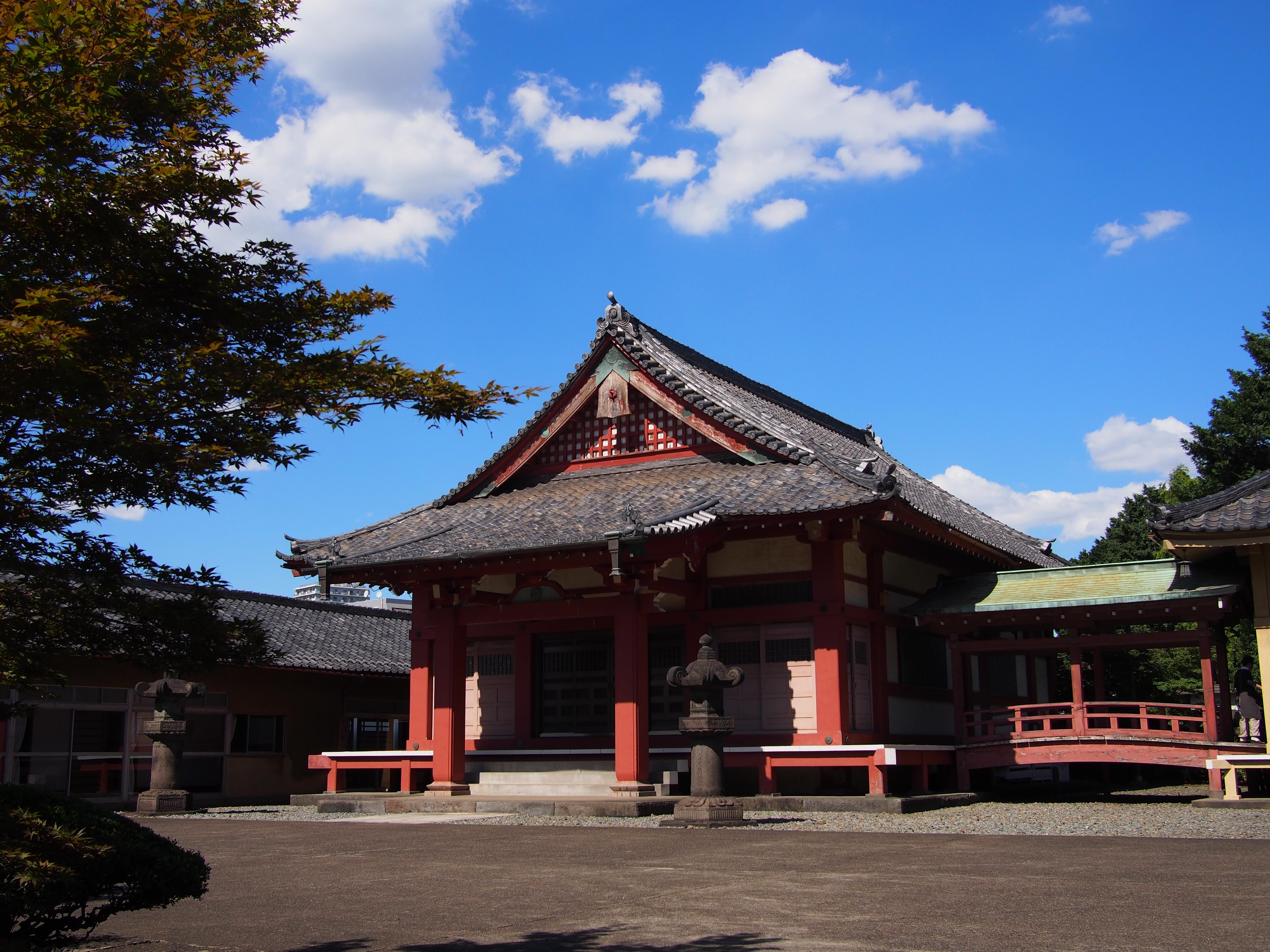 寛永寺の周辺