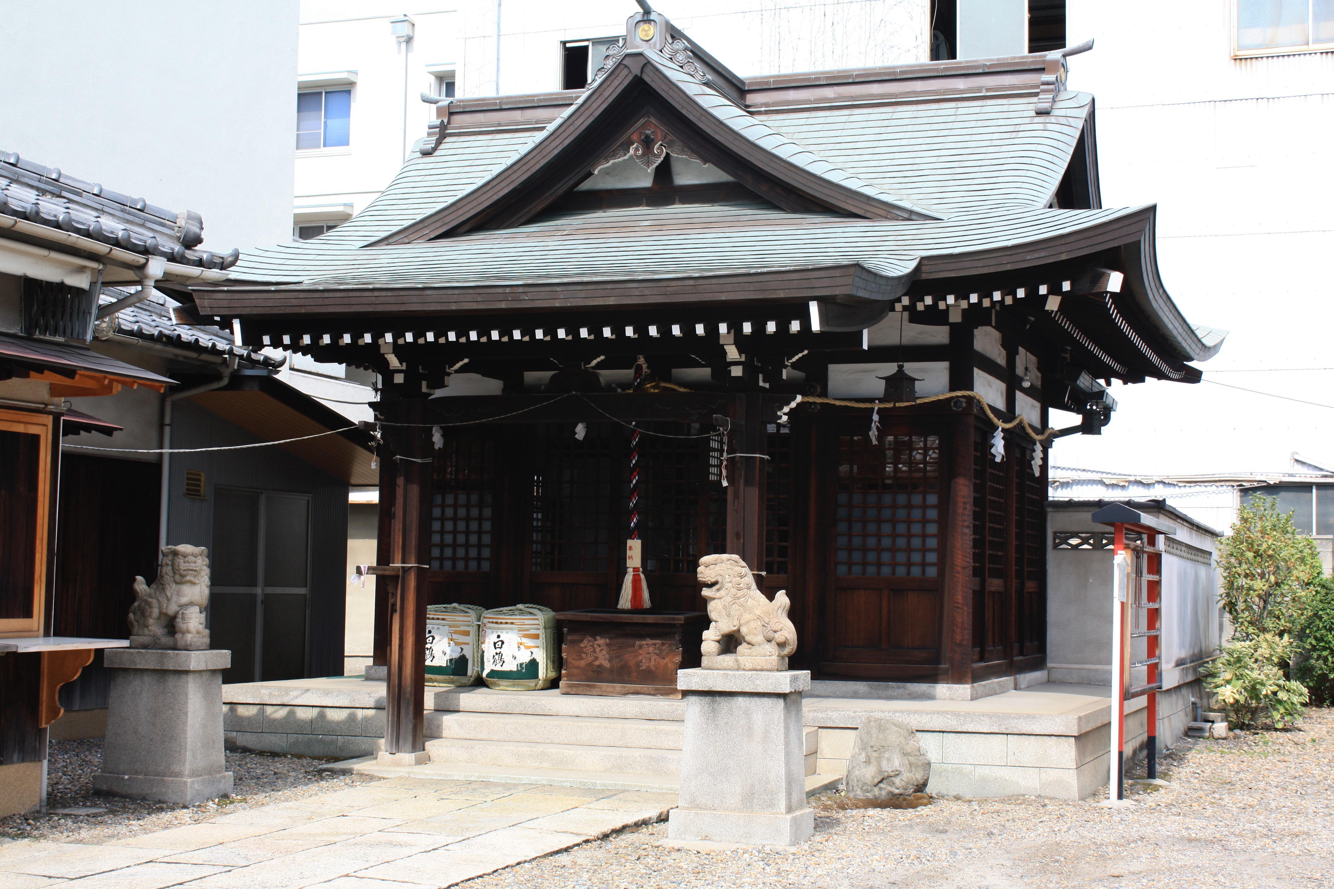 御崎八幡神社の本殿