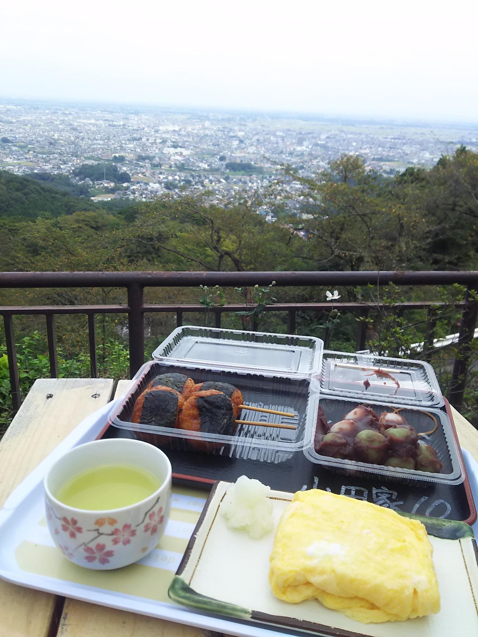 太平山神社の食事