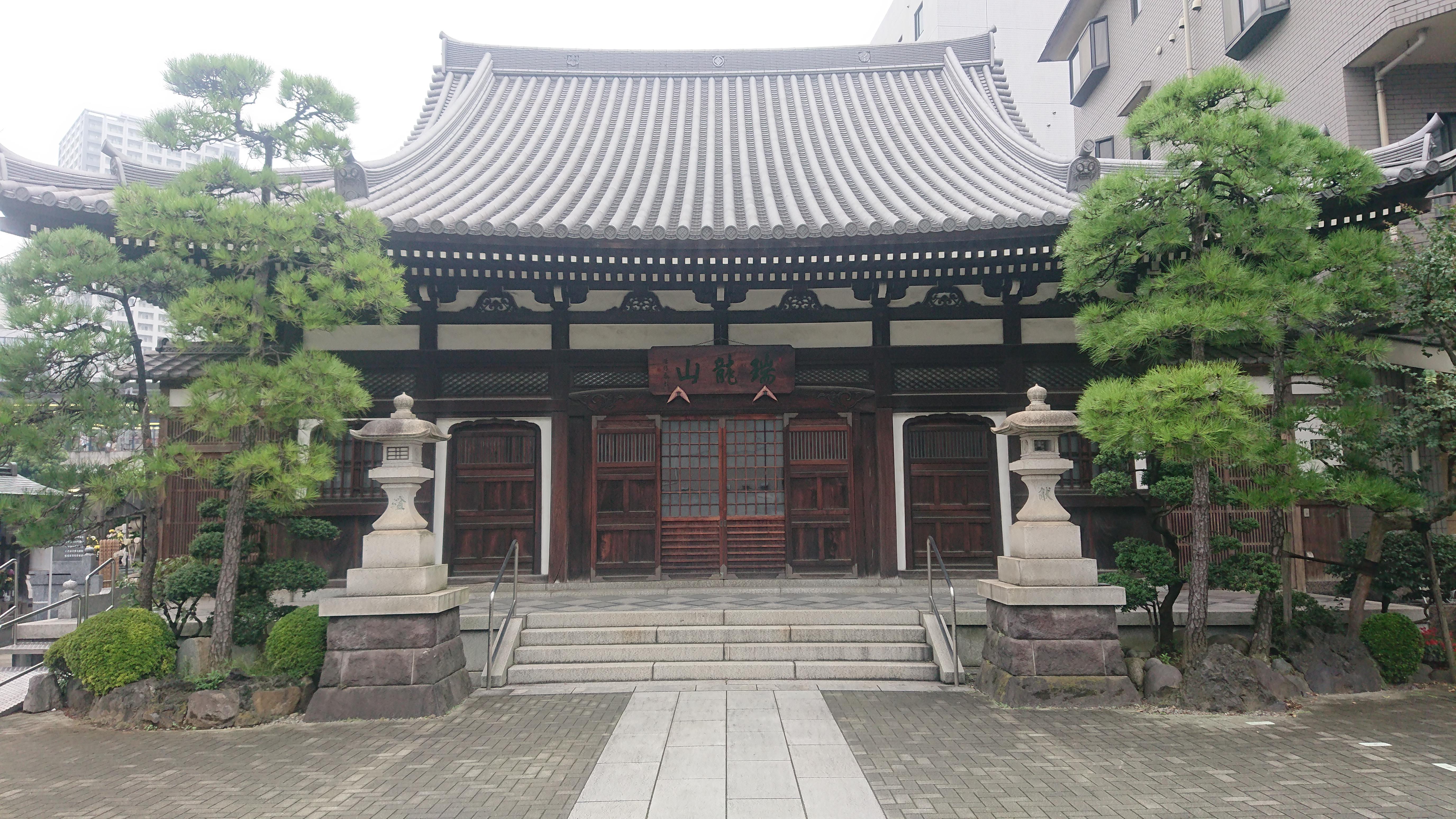 宗三寺の境内・文化財
