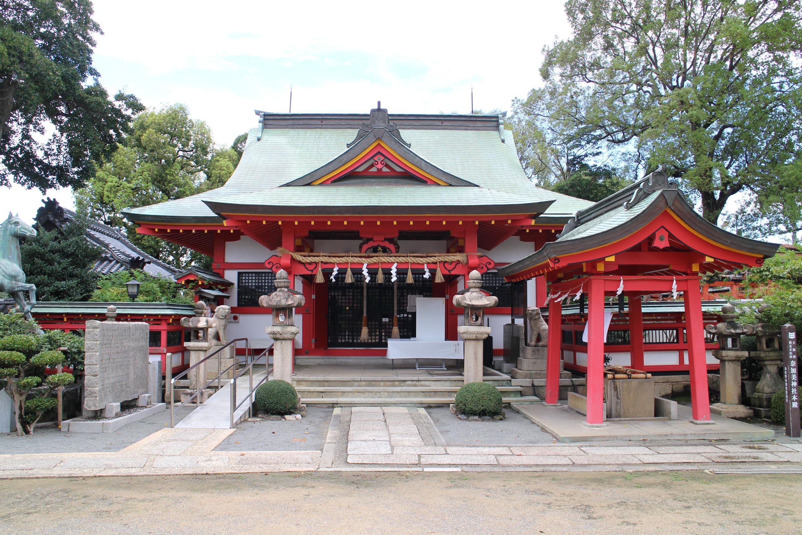 奈加美神社の本殿