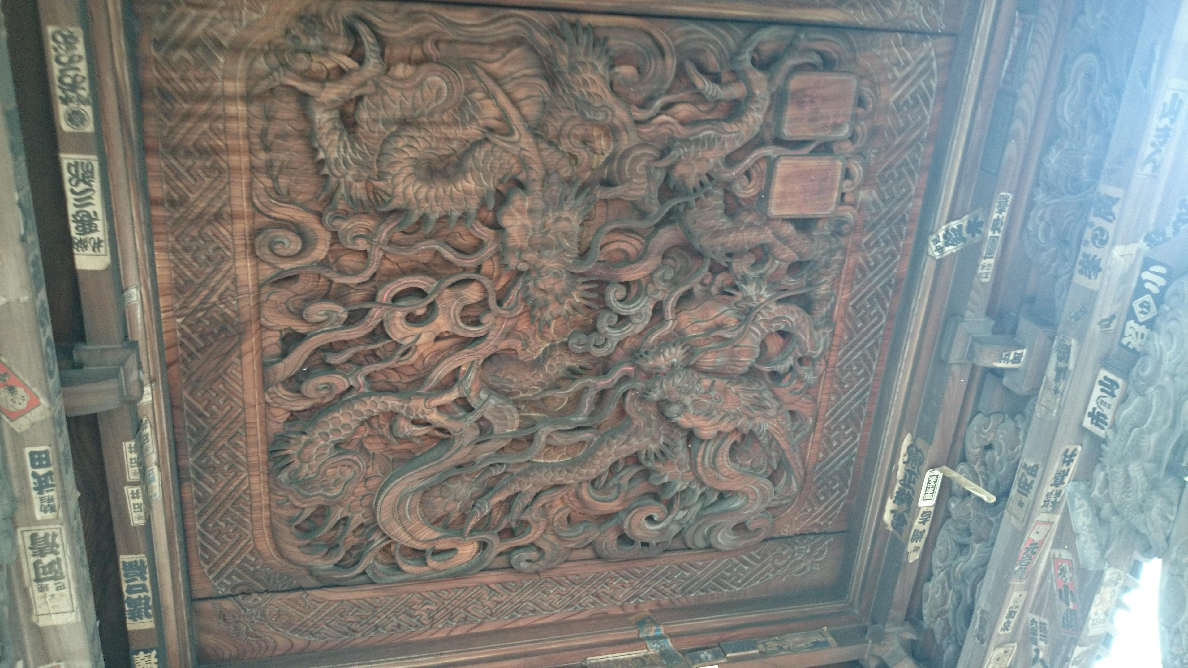久遠寺の芸術