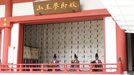 日枝神社の神楽
