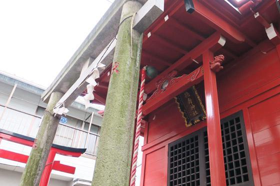徳壽神社の鳥居