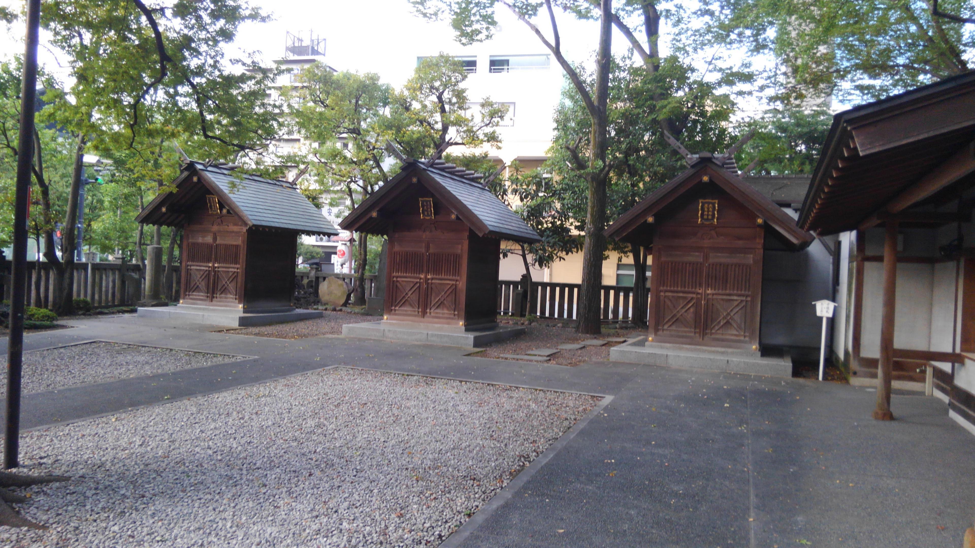 富岡八幡宮の末社