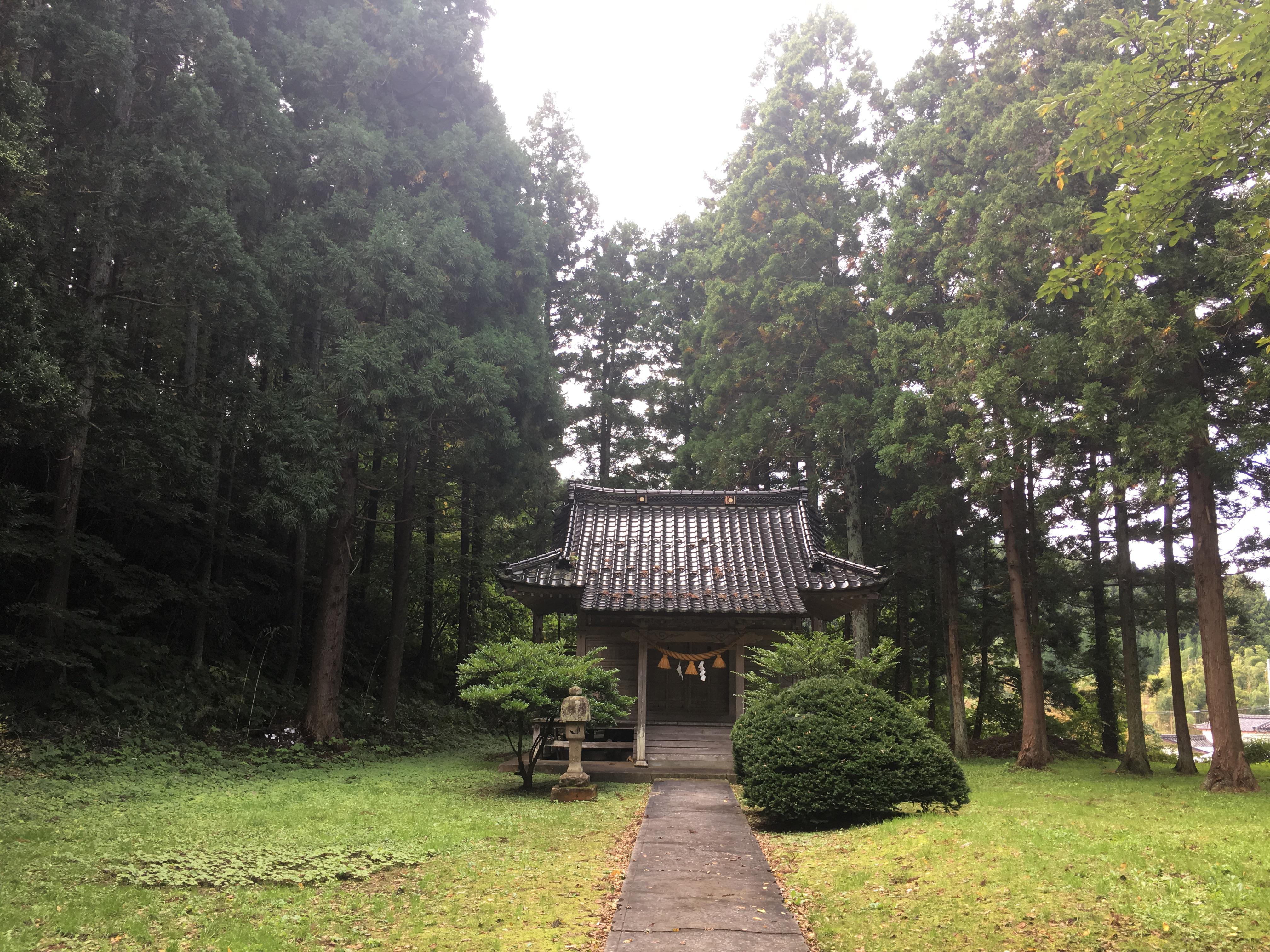 天鷺神社の本殿