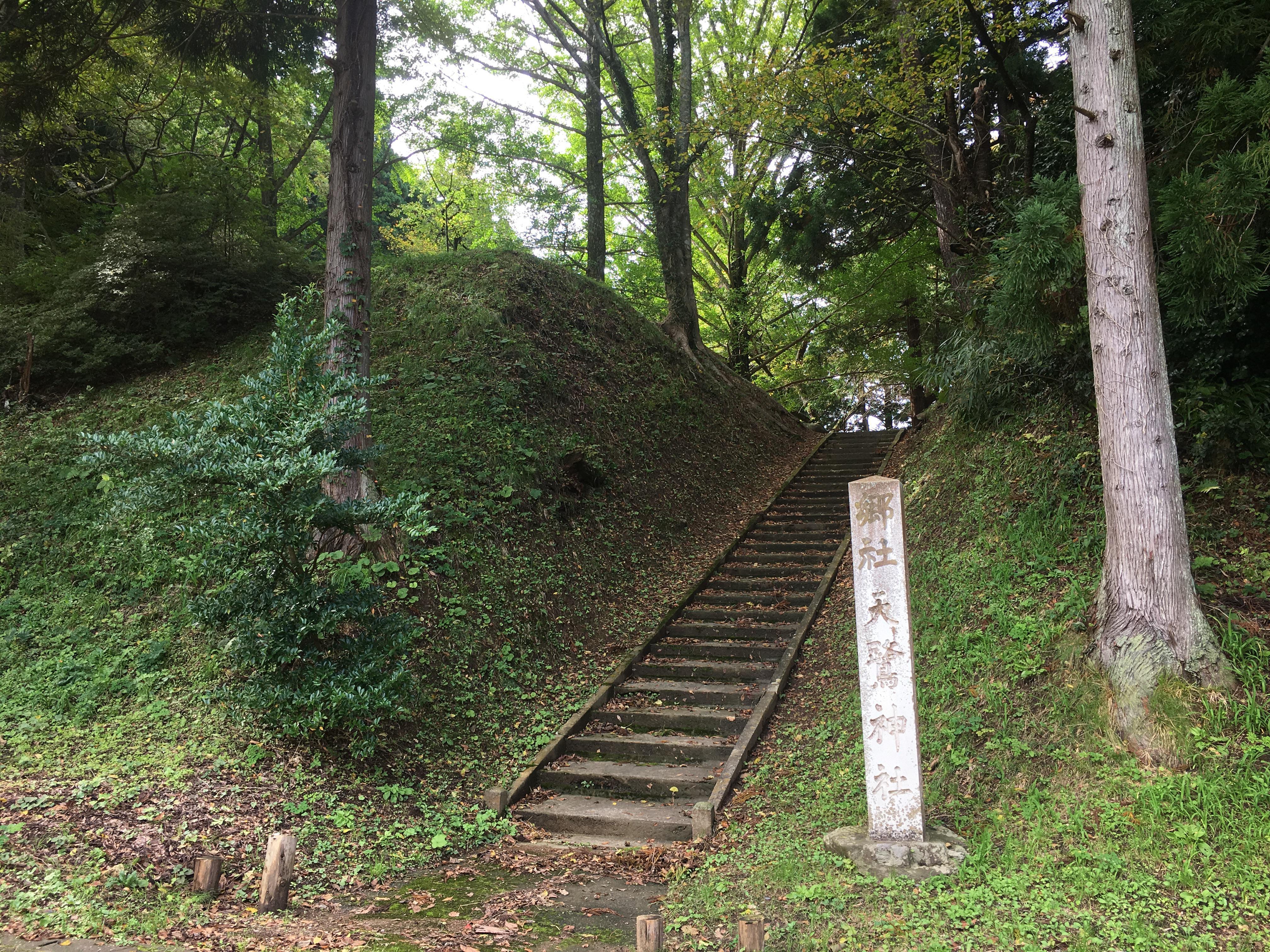 天鷺神社の景色