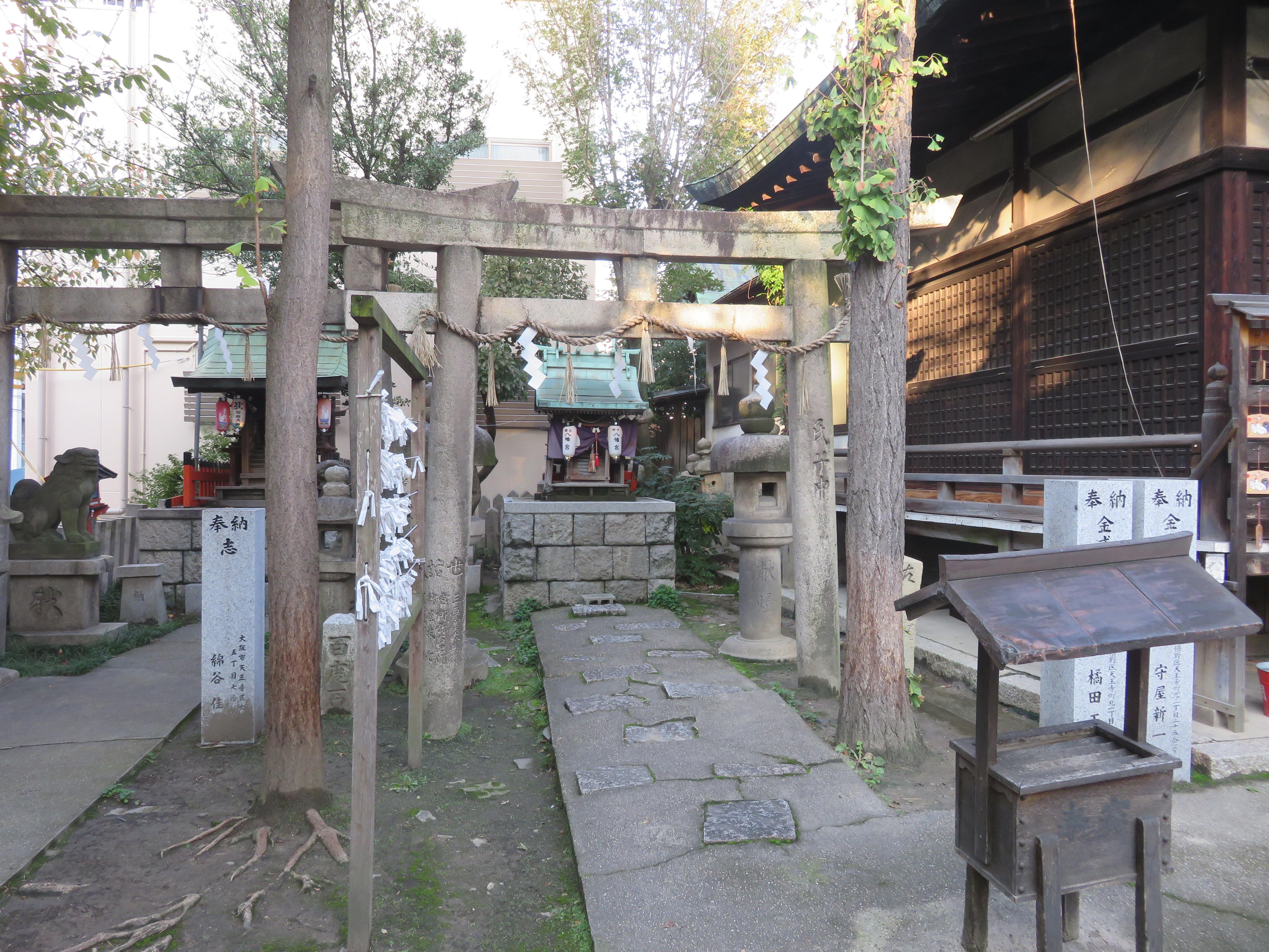 河堀稲生神社の末社