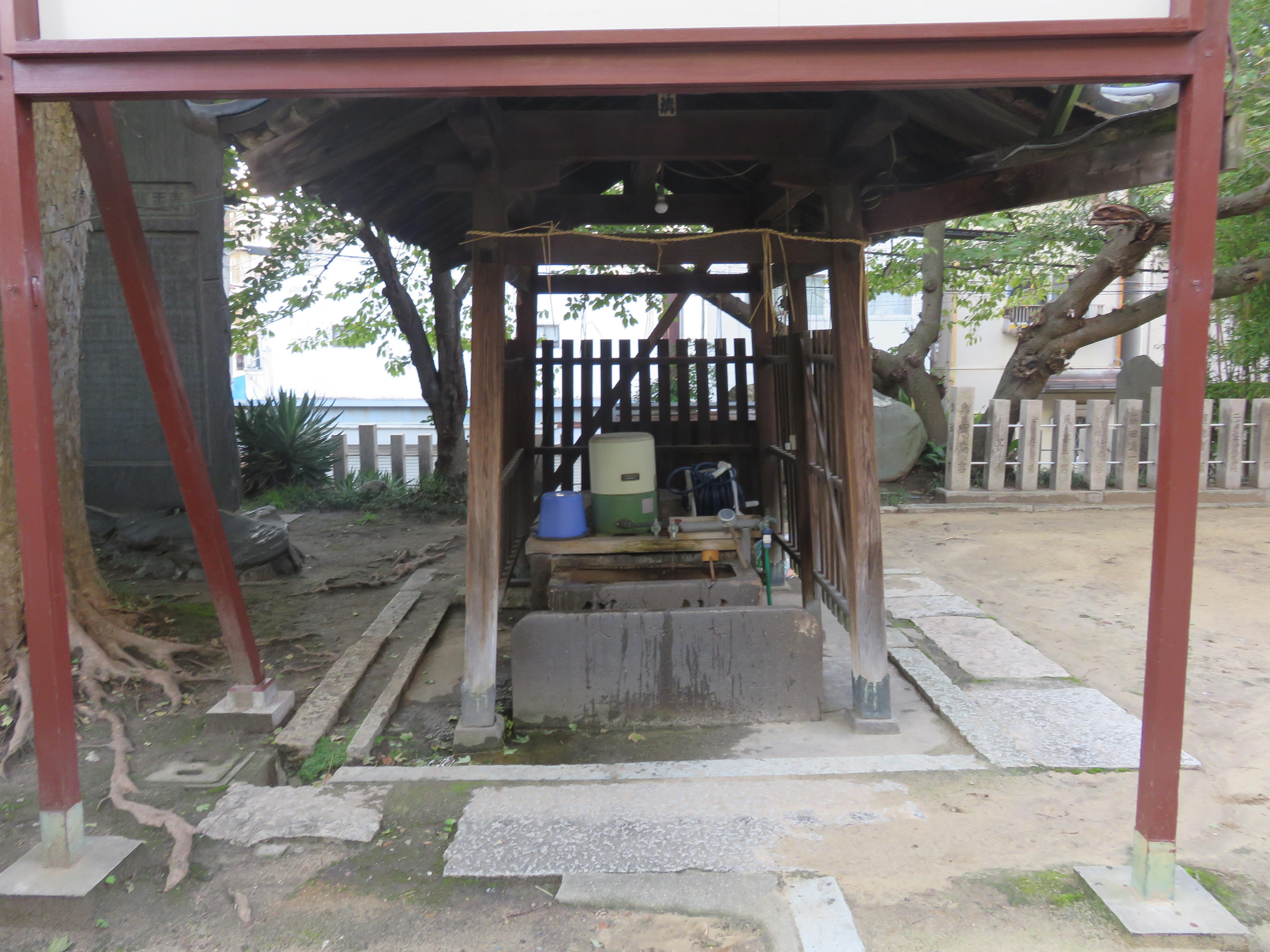 河堀稲生神社の手水