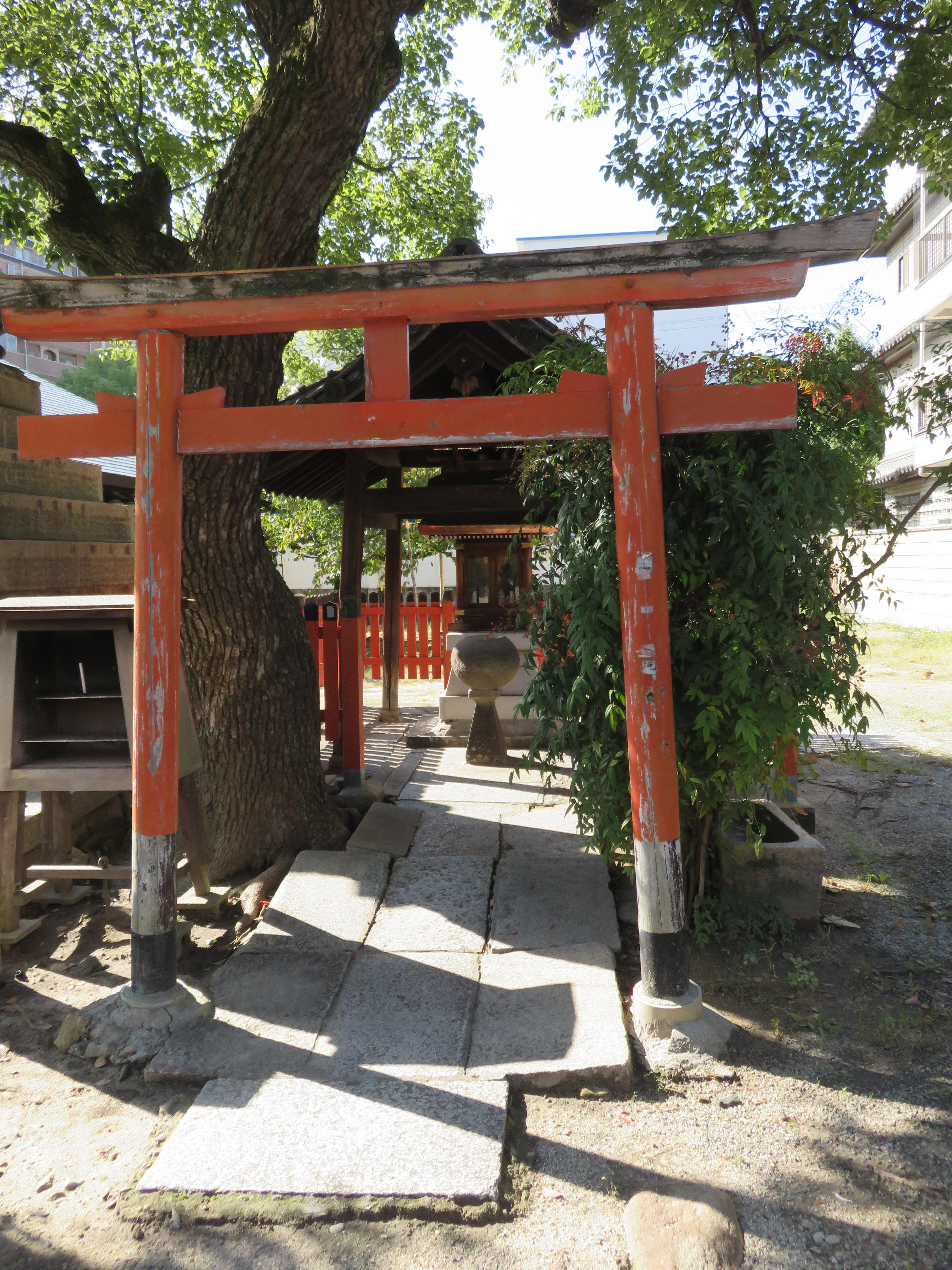 四天王寺庚申堂の鳥居