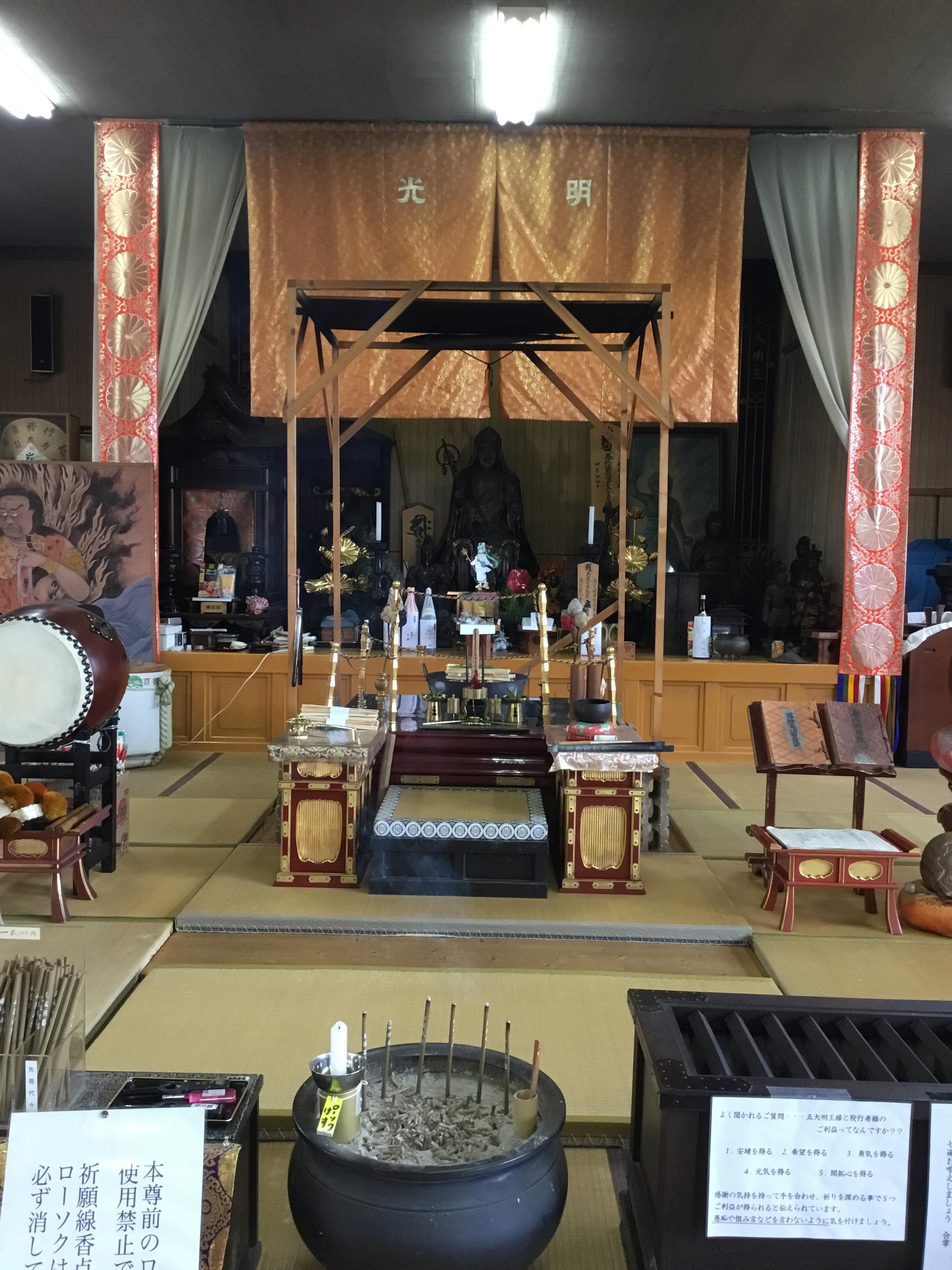 吉祥草寺の本殿・本堂(奈良県玉手駅)