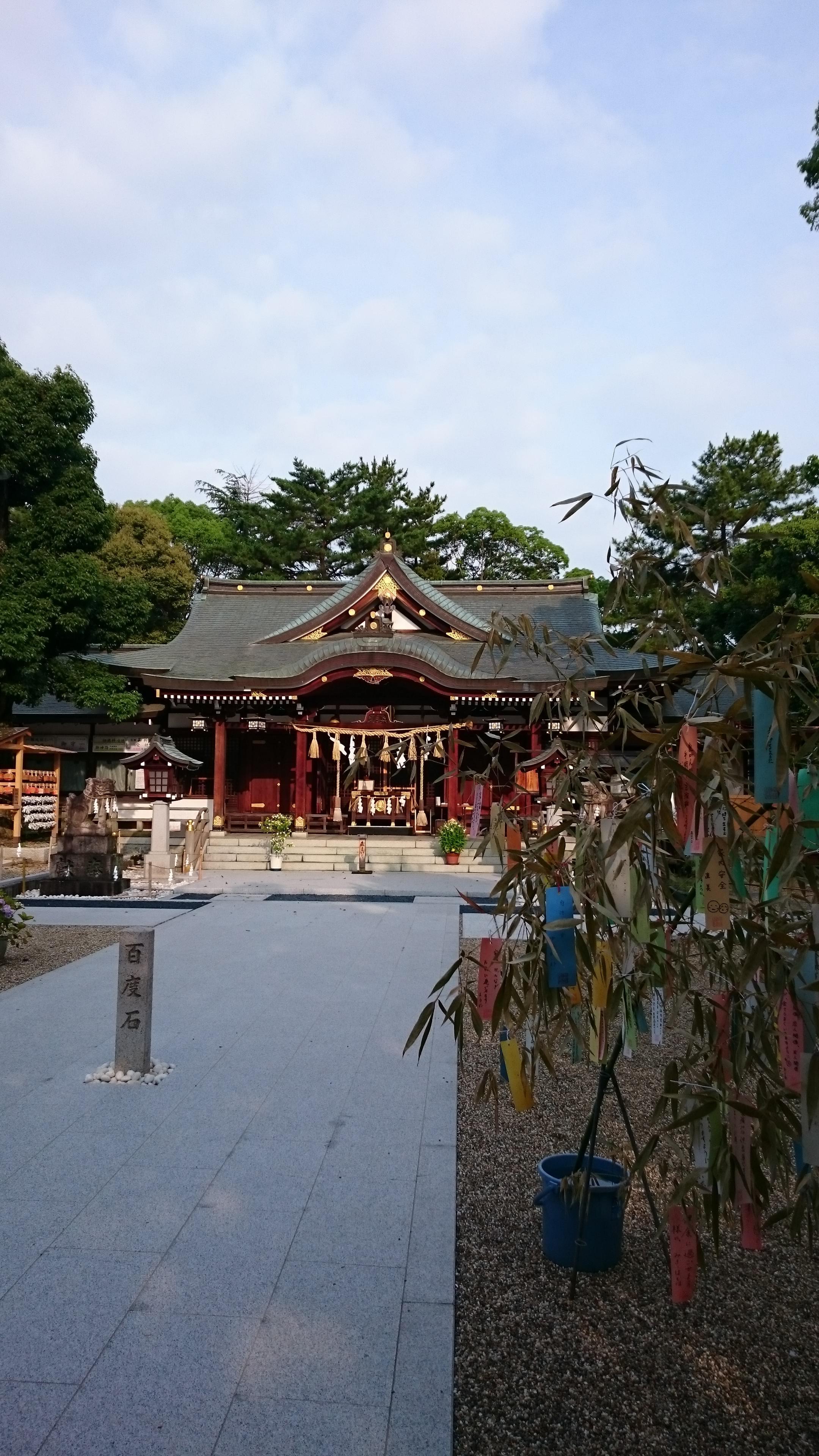 辛國神社の本殿