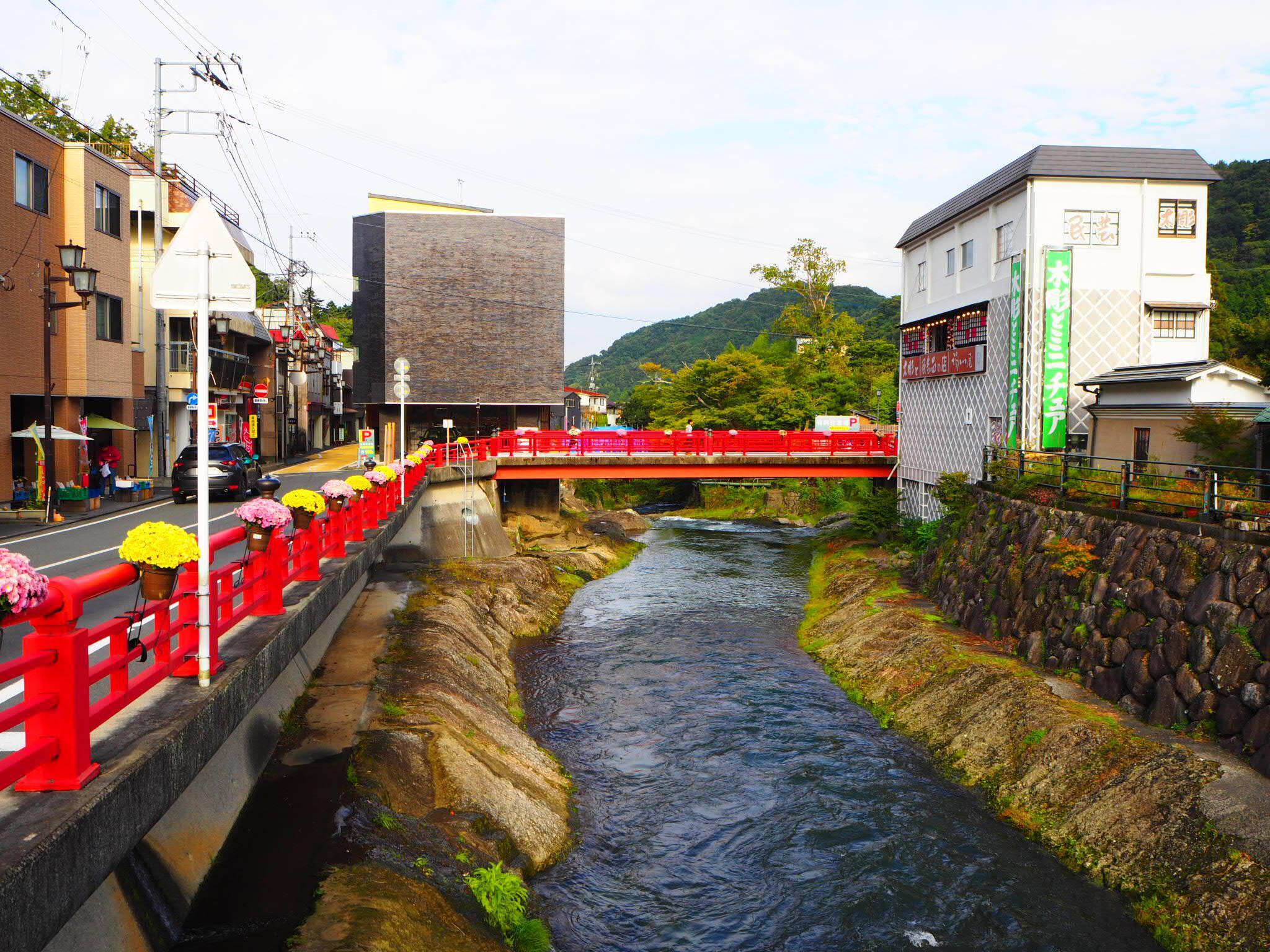 修禅寺の周辺(静岡県修善寺駅)