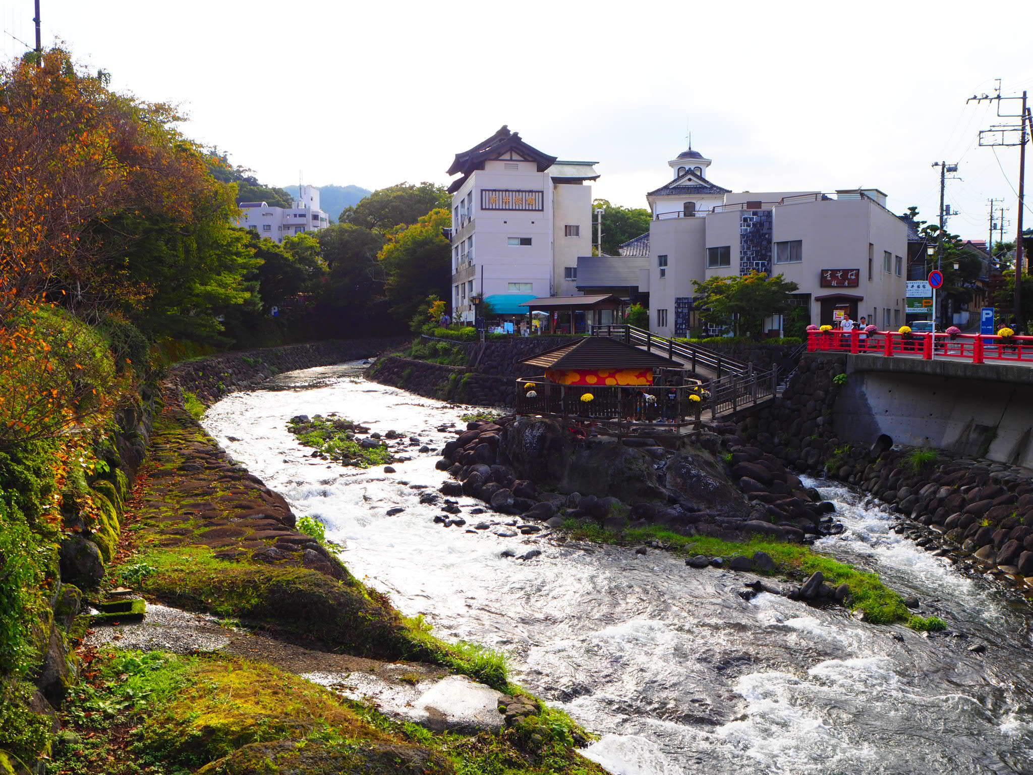 修禅寺の自然(静岡県修善寺駅)
