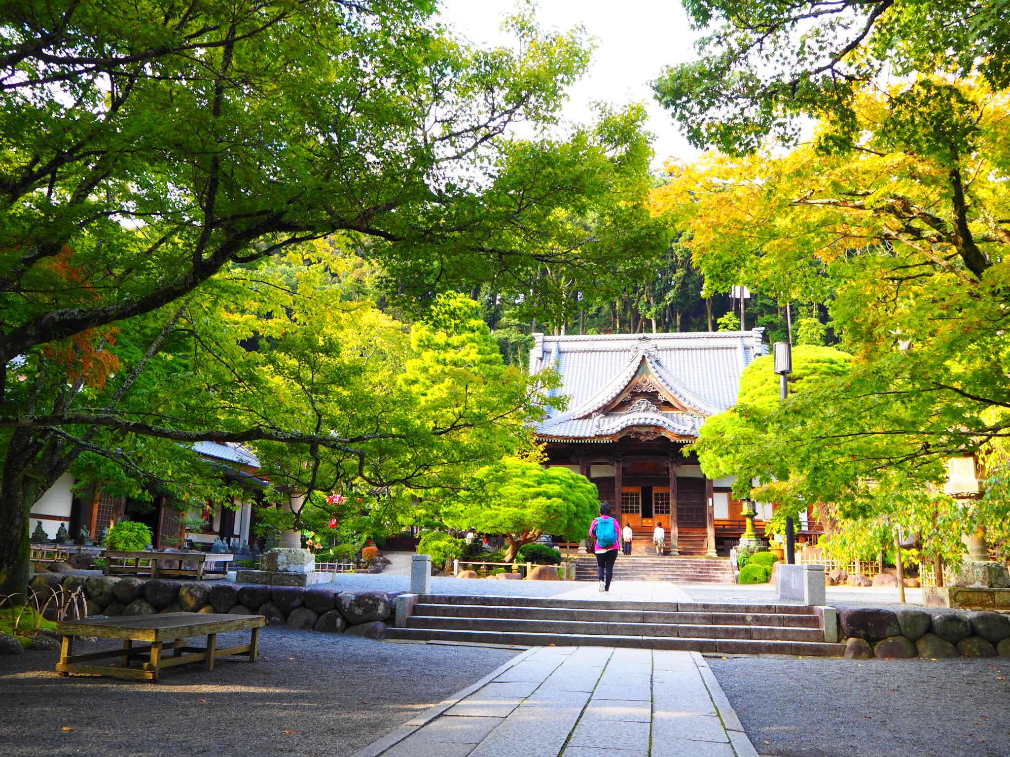 修禅寺の本殿(静岡県修善寺駅)