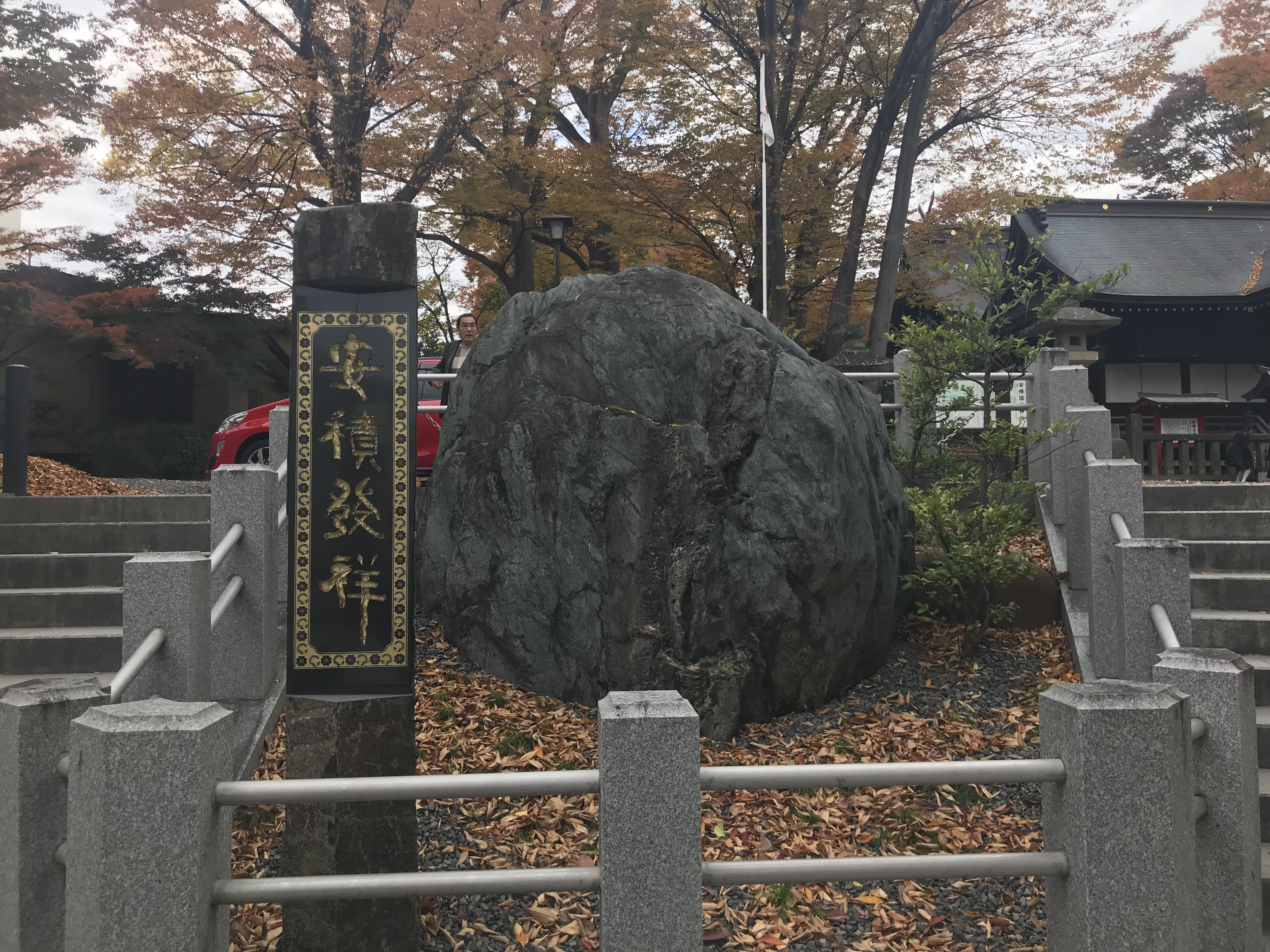 安積國造神社の自然