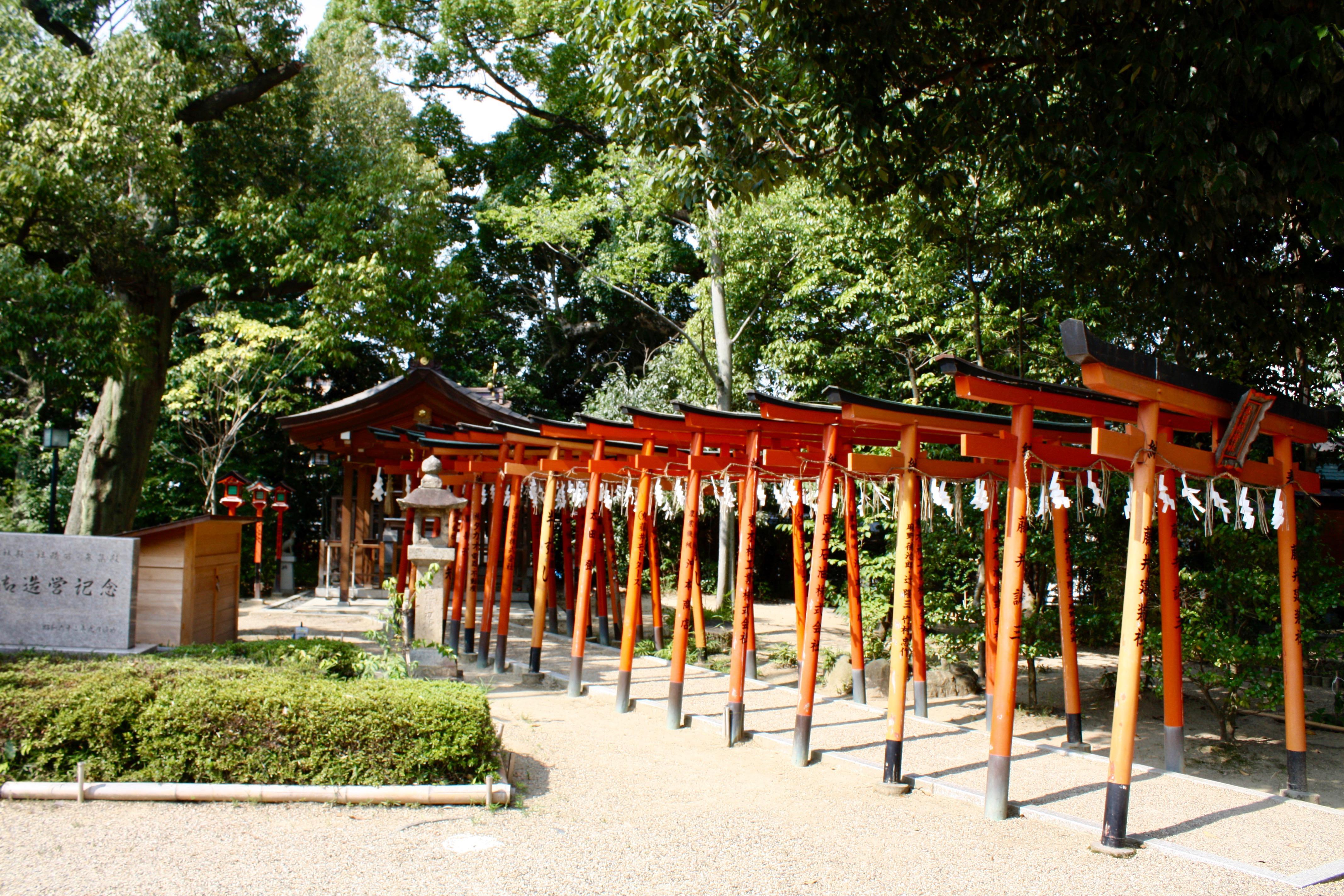 辛國神社の鳥居