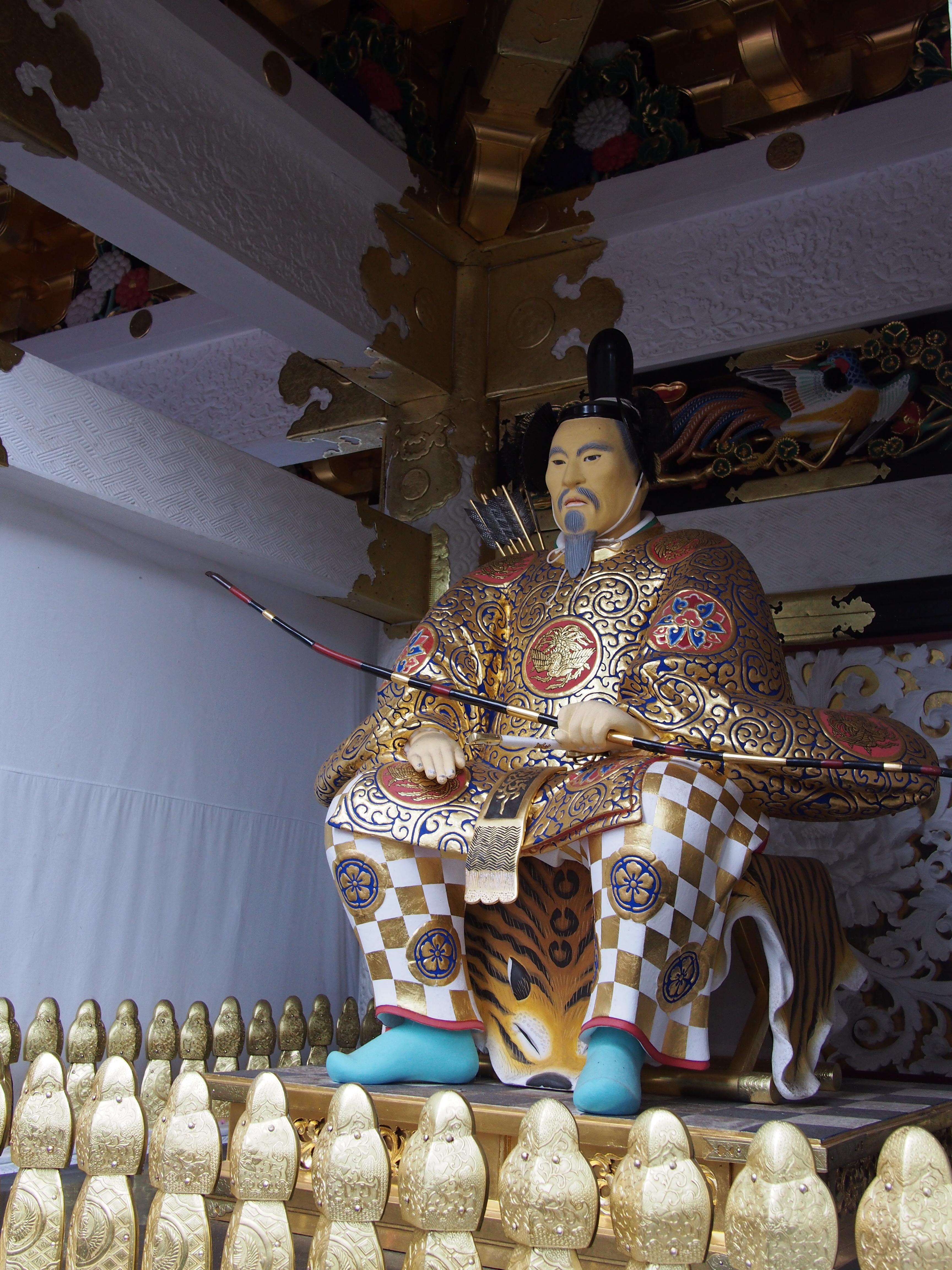 日光東照宮の像