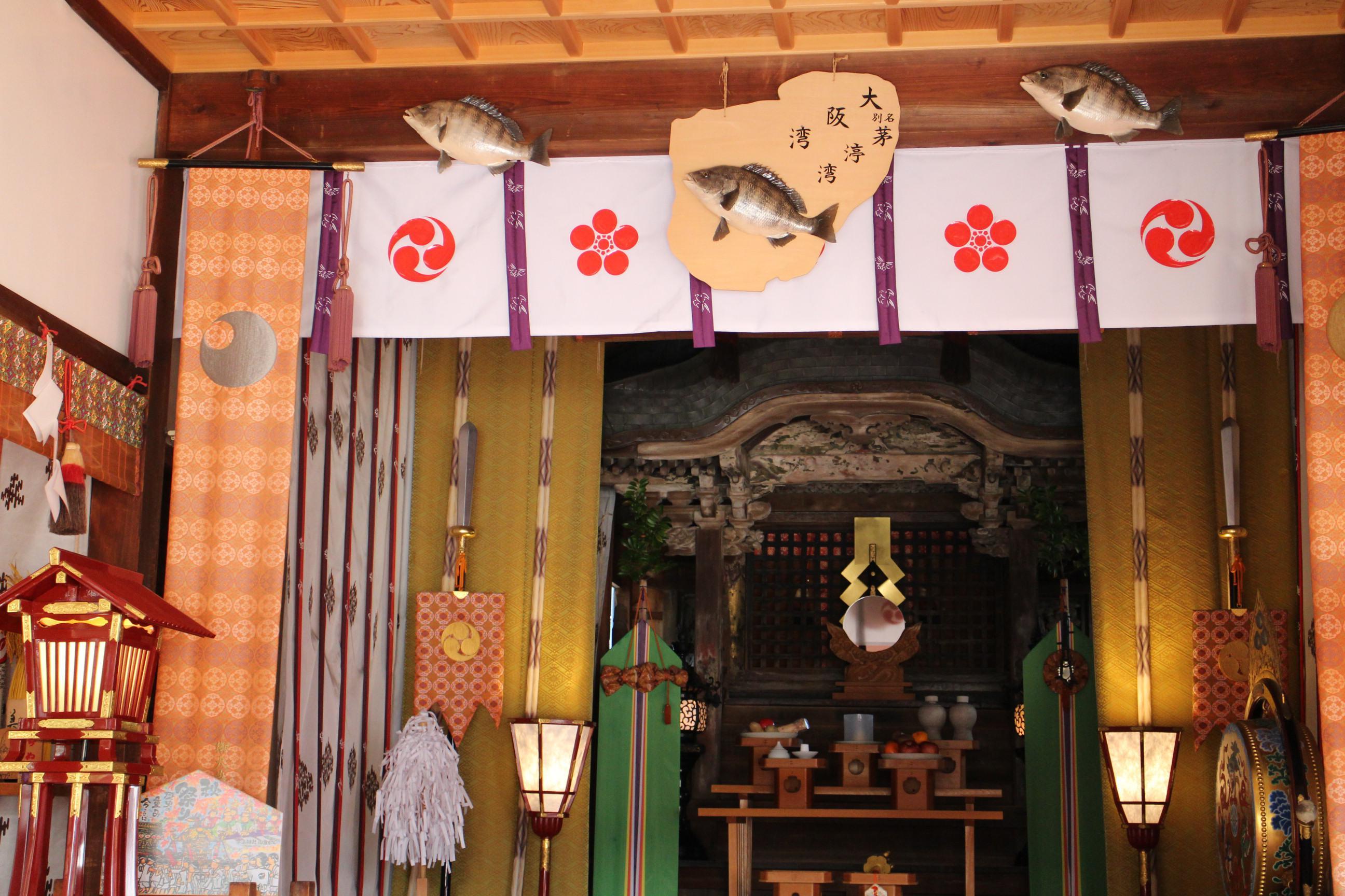茅渟神社の本殿