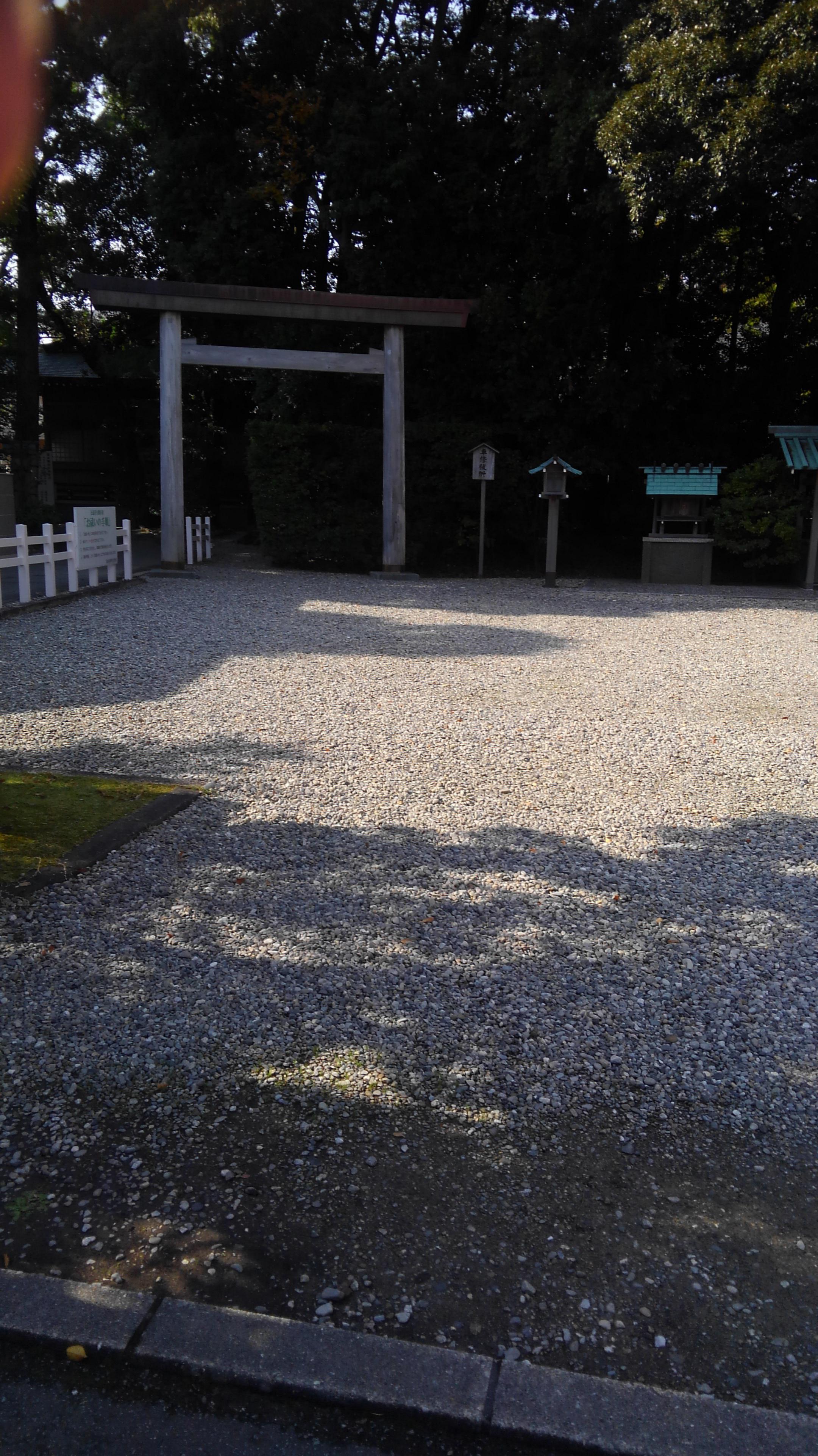 猿田彦神社の自然
