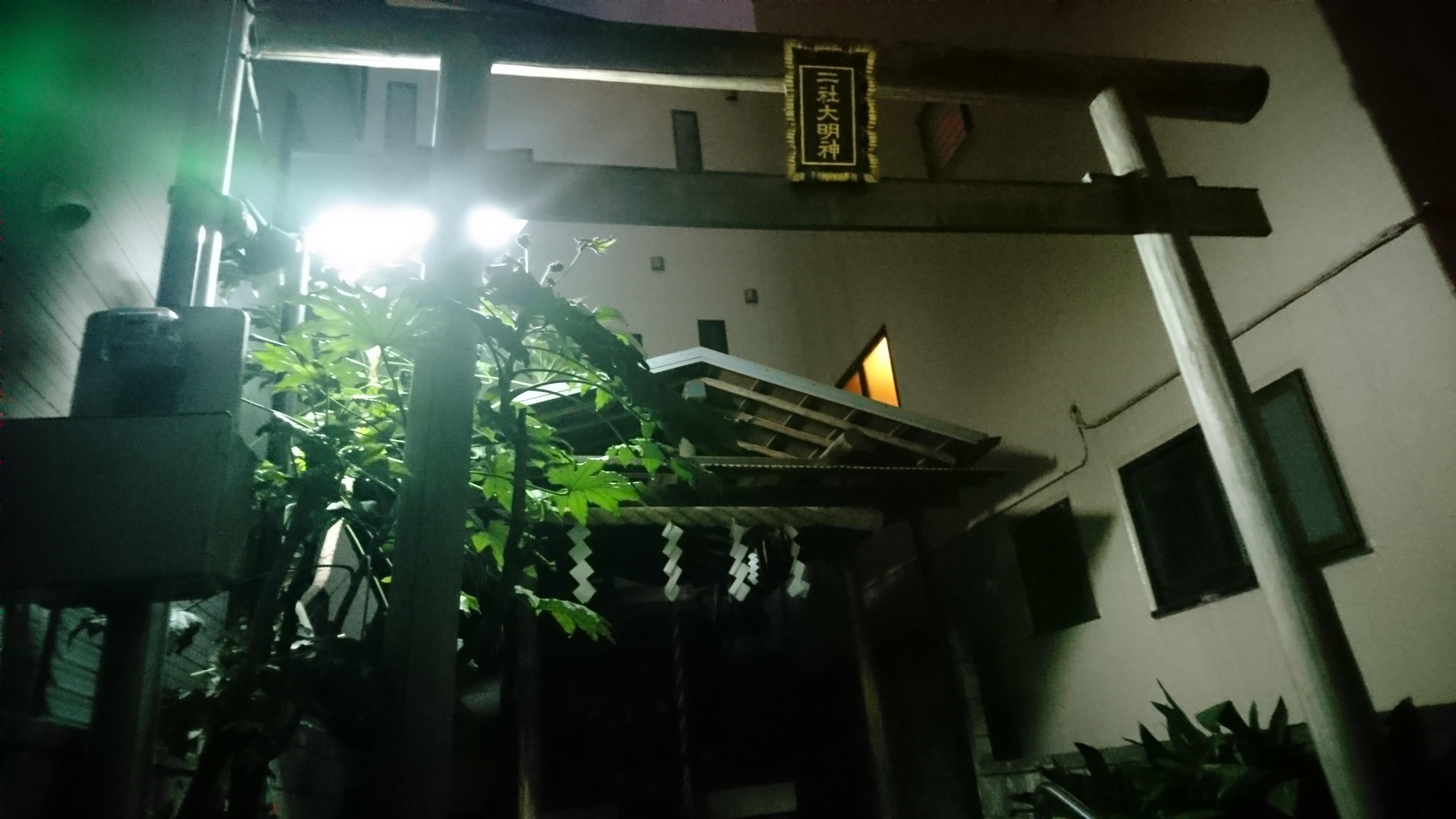 二社神社の鳥居