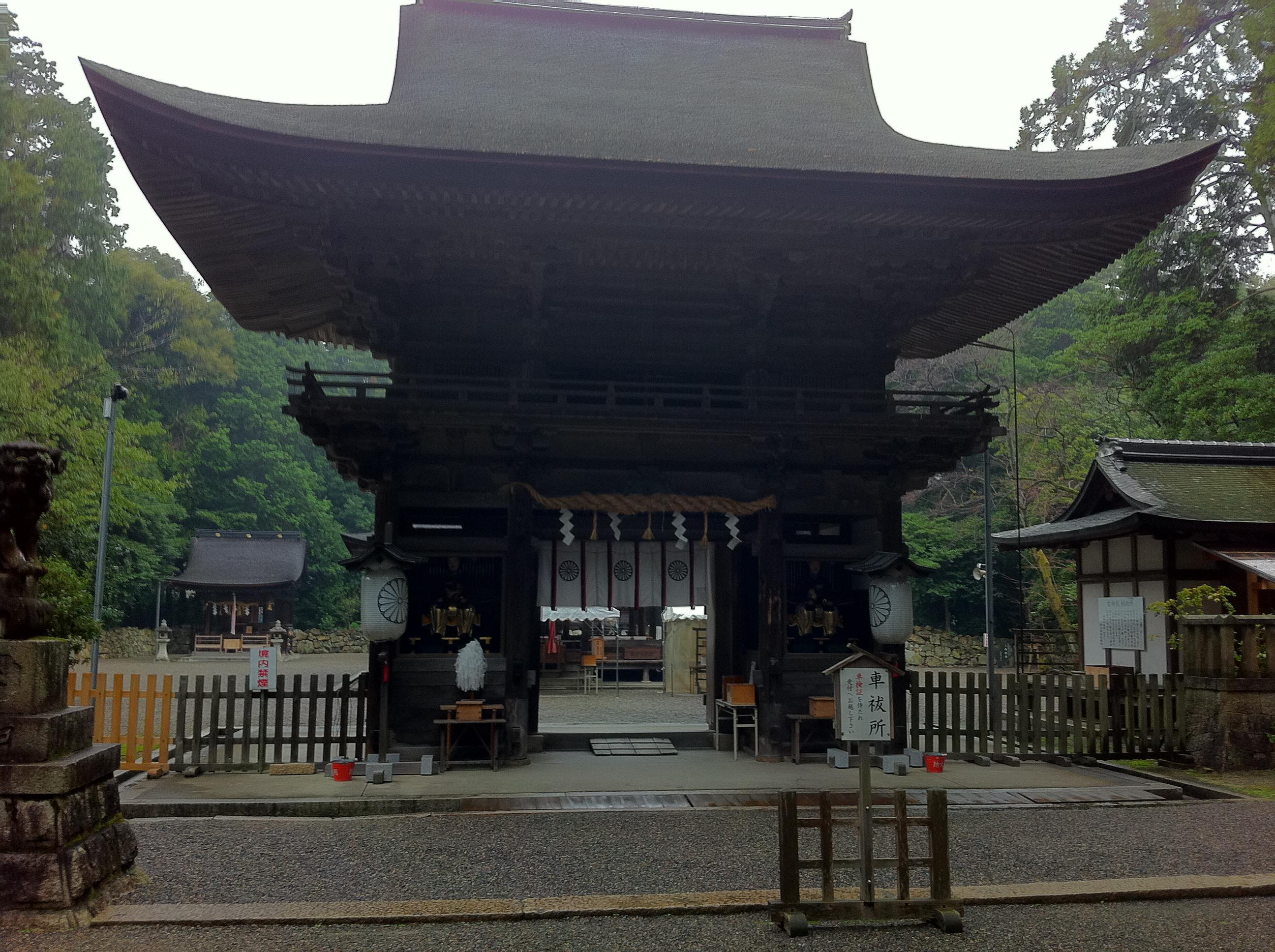 御上神社の山門