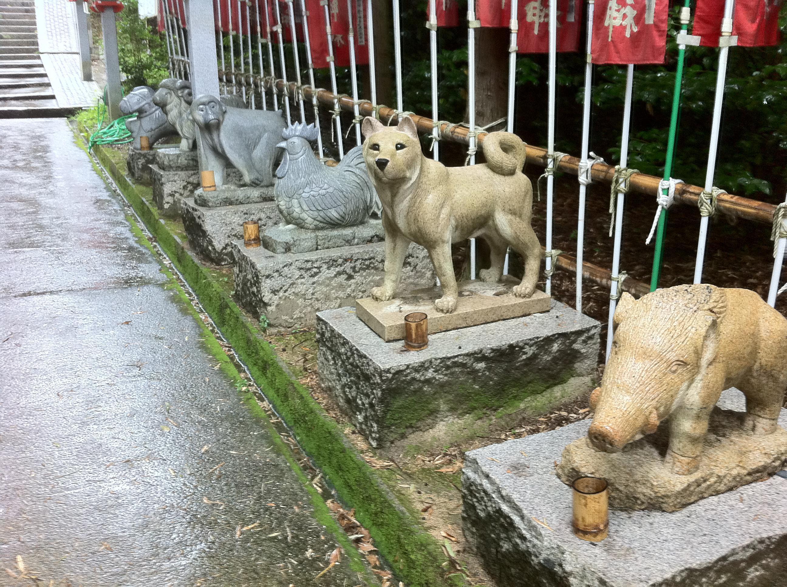 吉備津神社の狛犬