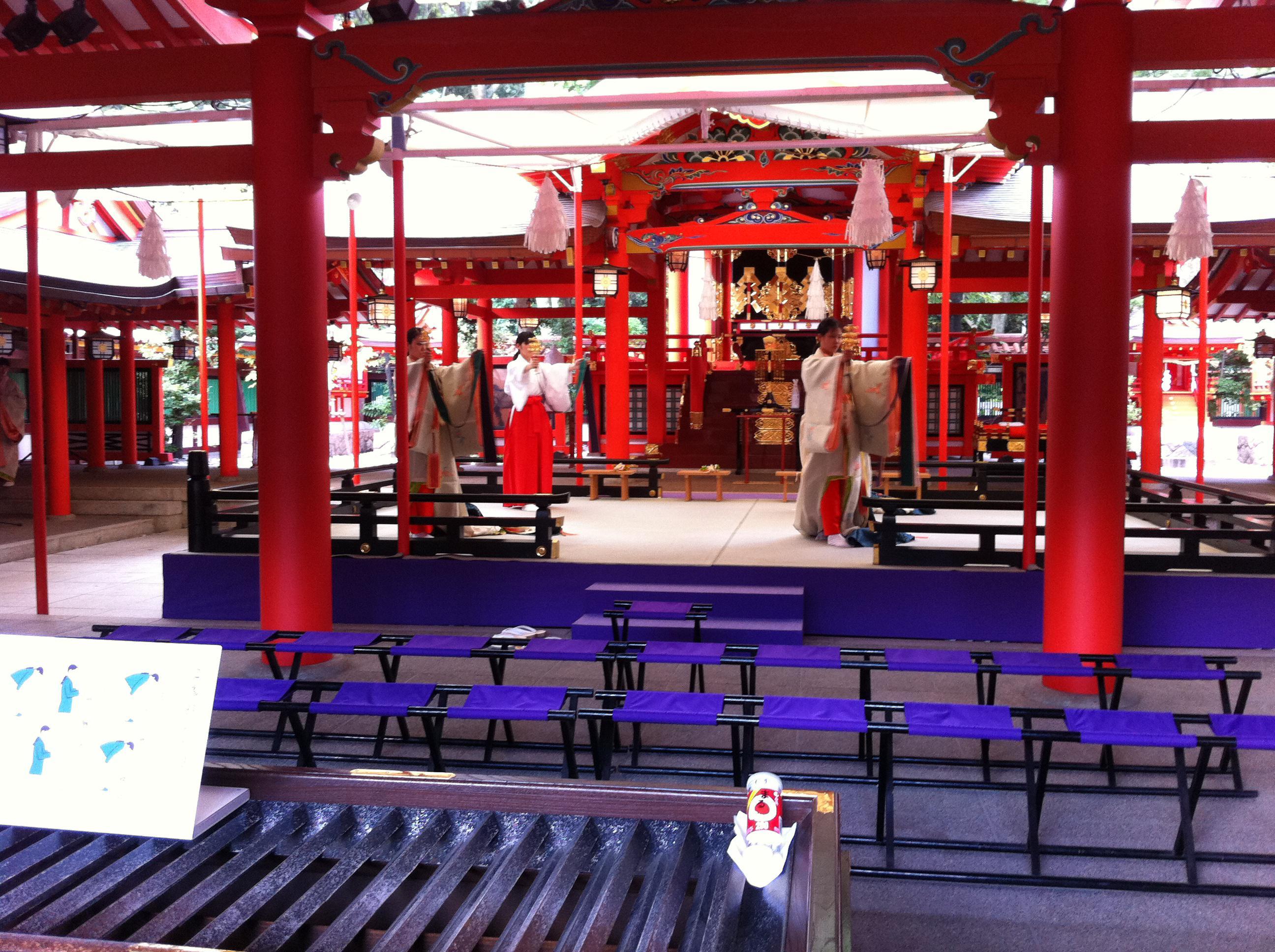 生田神社の神楽